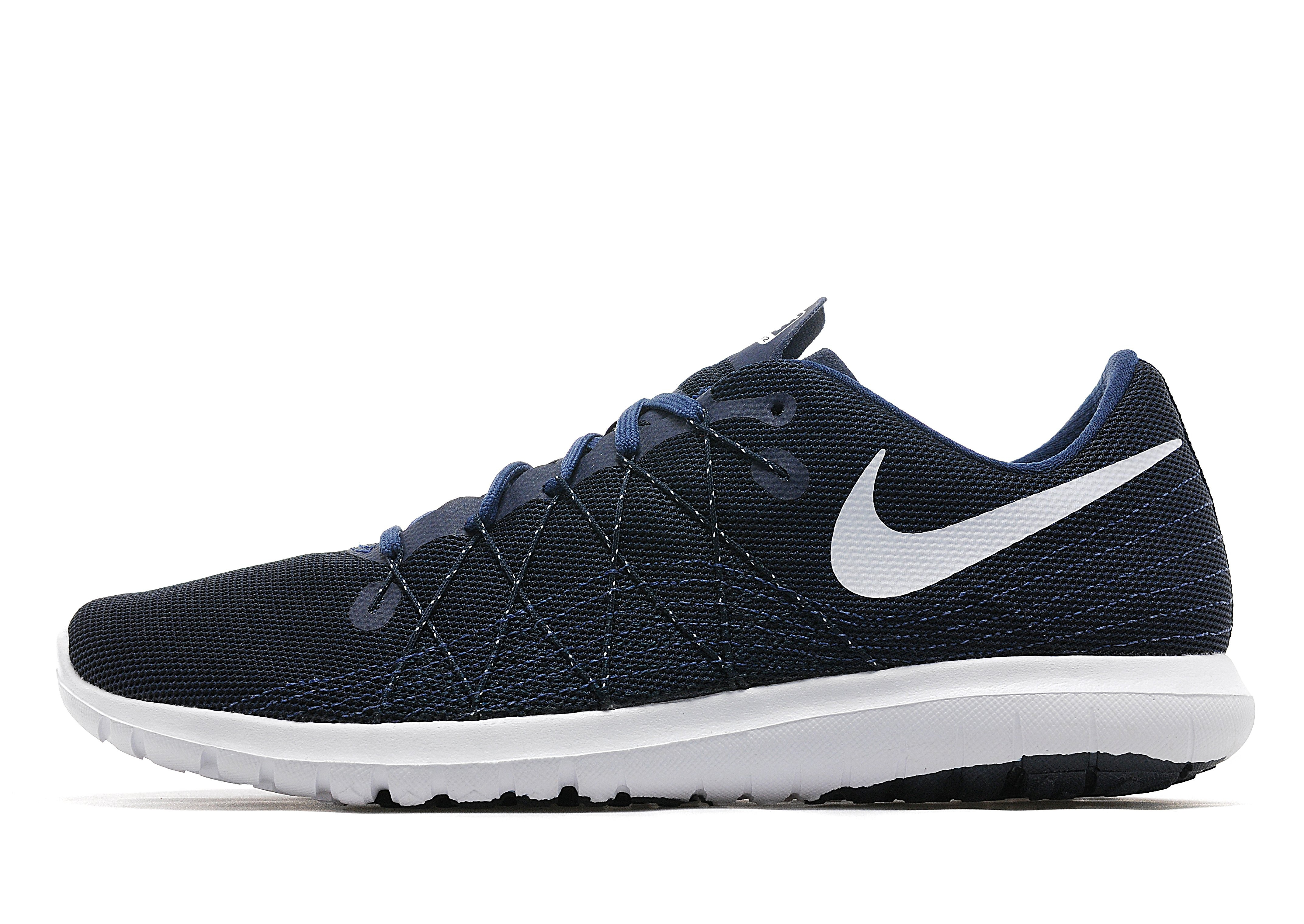 preview of run shoes save off Nike Flex Fury 2 - Navy/White - Mens - Sports King Store