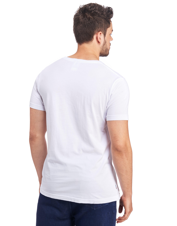 Franklin & Marshall Beach Logo T-Shirt