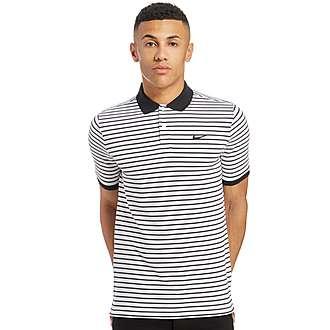 Nike Blue Label Stripe Polo Shirt