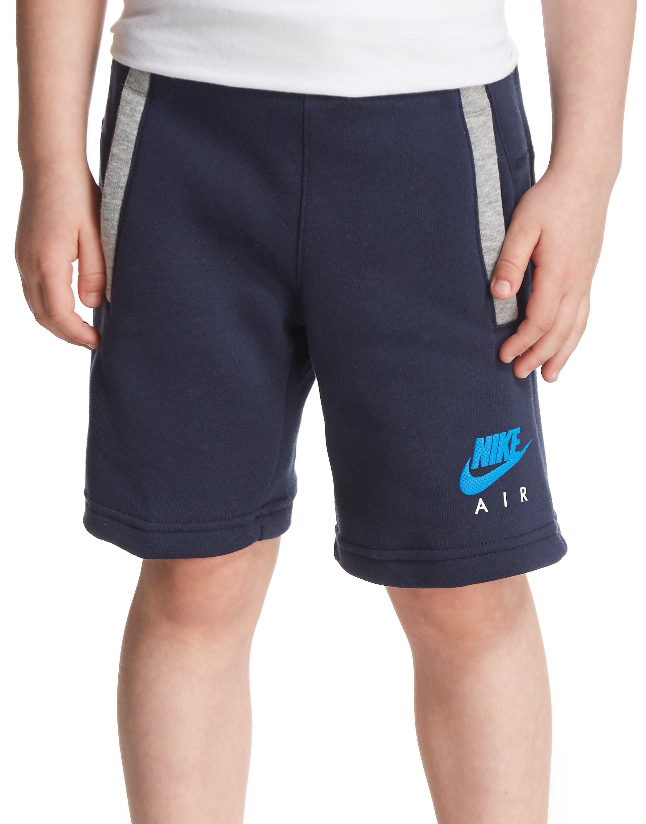 862e05e59d9e Nike Air Fleece Shorts Children - Navy Blue - Kids - Sports King Store