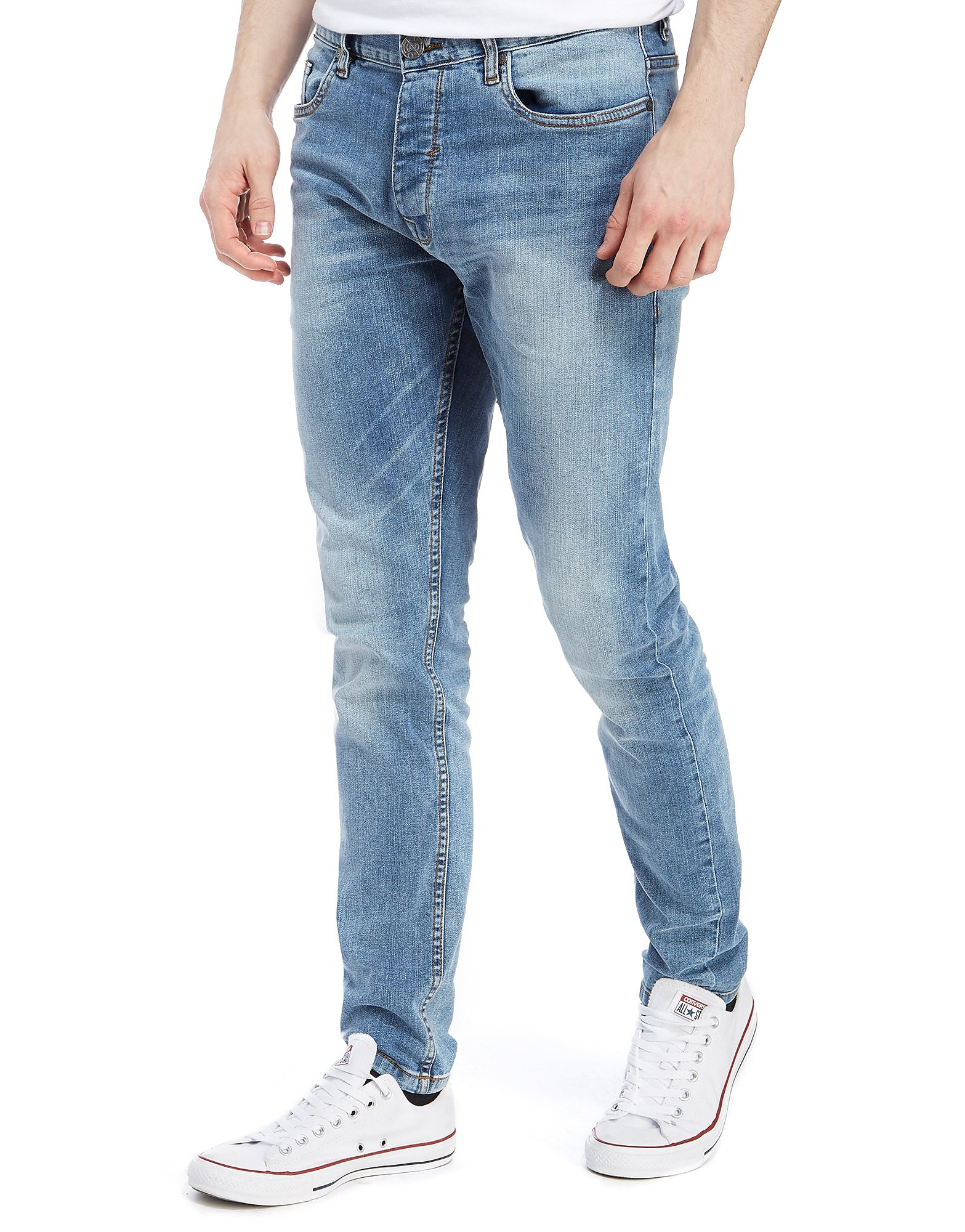 Nanny State Jeans aderenti light wash