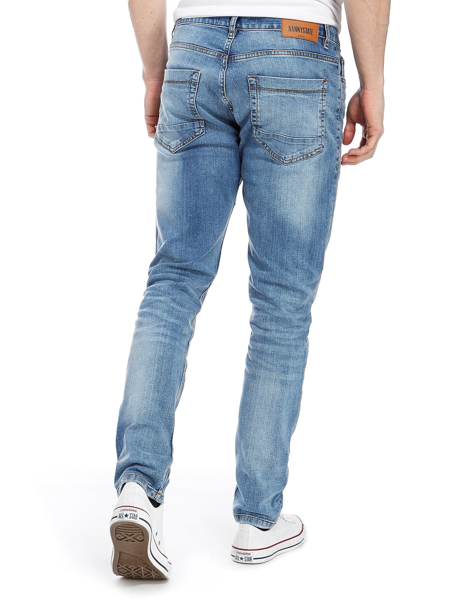 Nanny State Light Wash Skinny Jeans