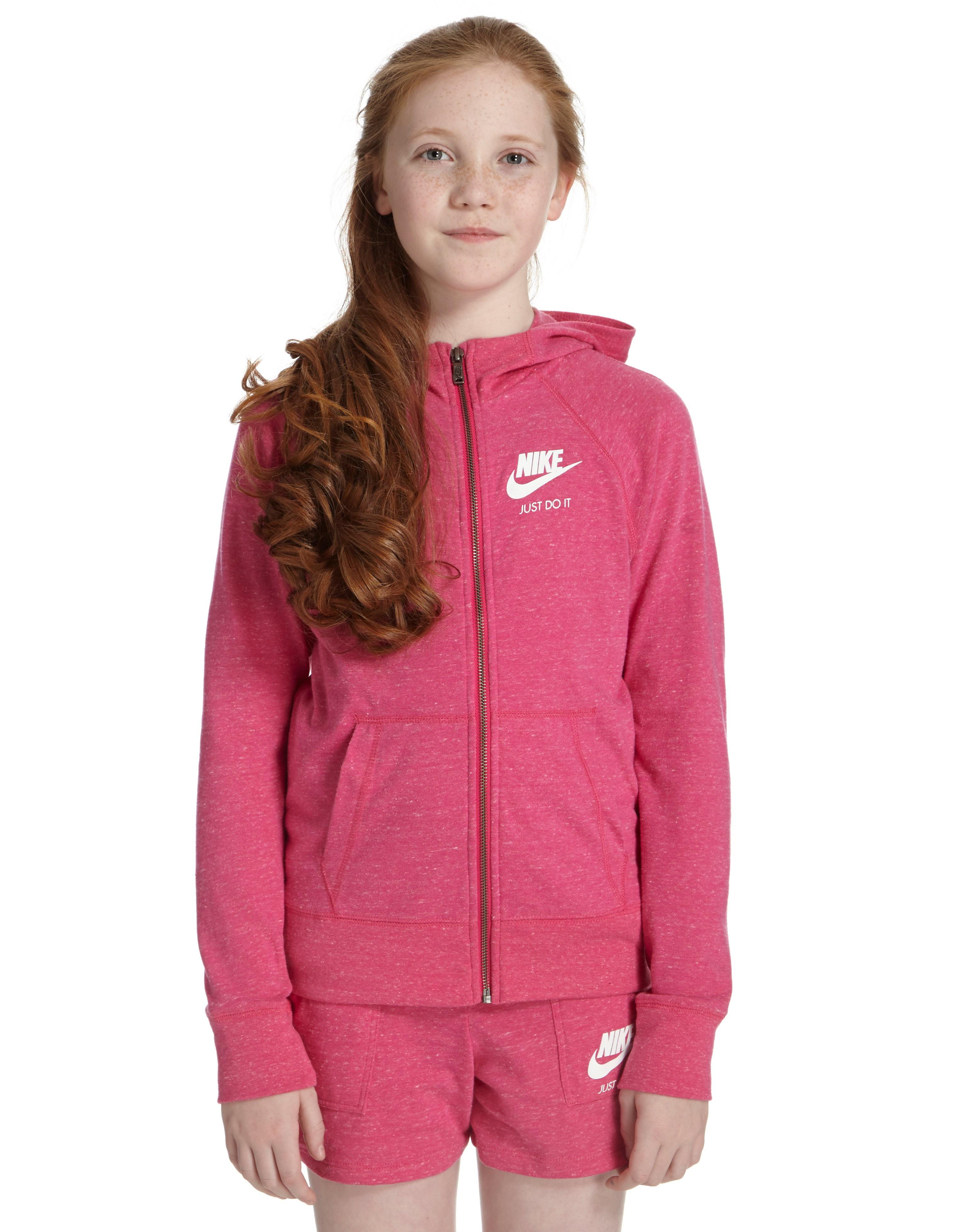 Nike Girls' Gym Vintage Full Zip Hoody Junior