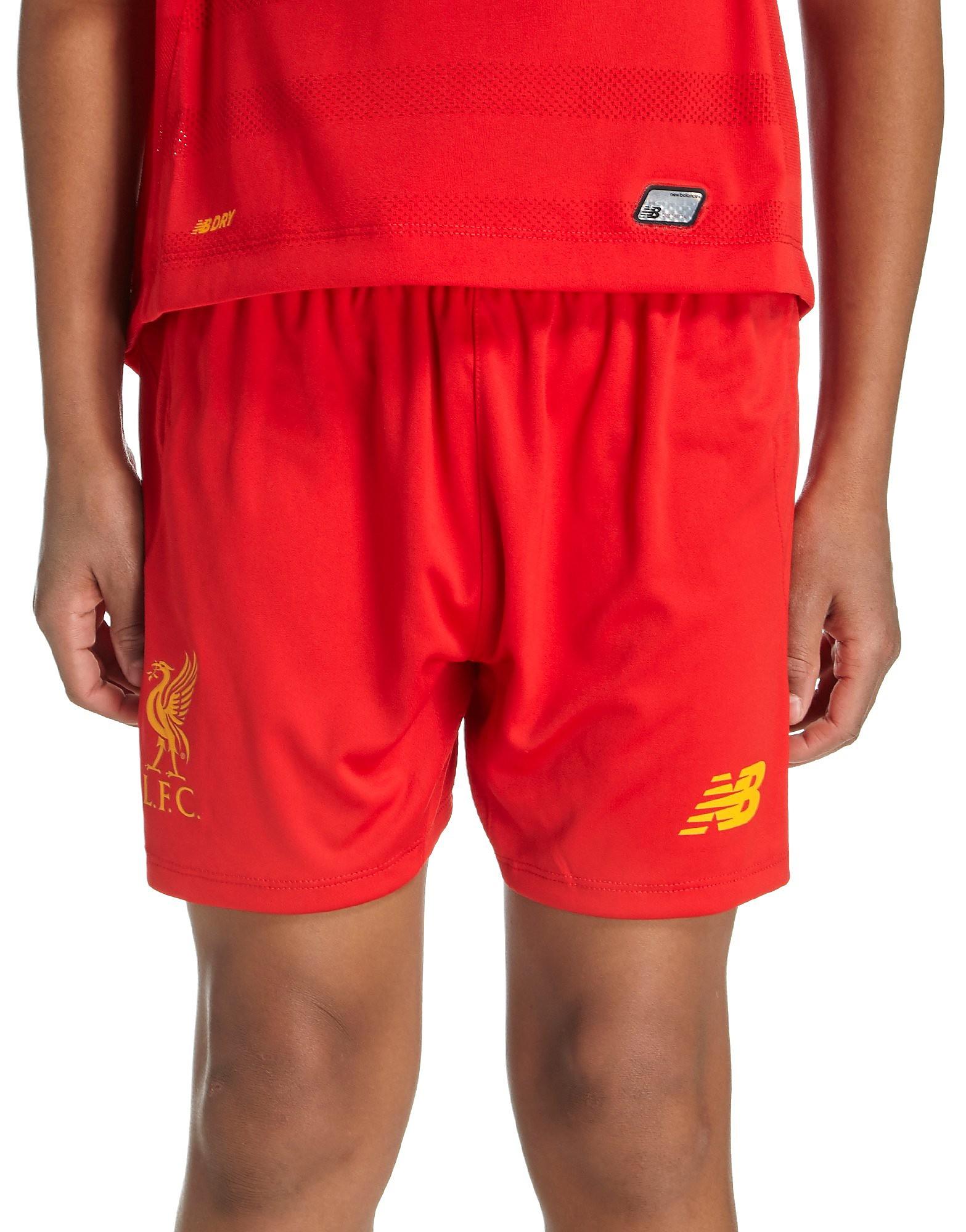 New Balance Liverpool FC 2016/17 Home Shorts Junior