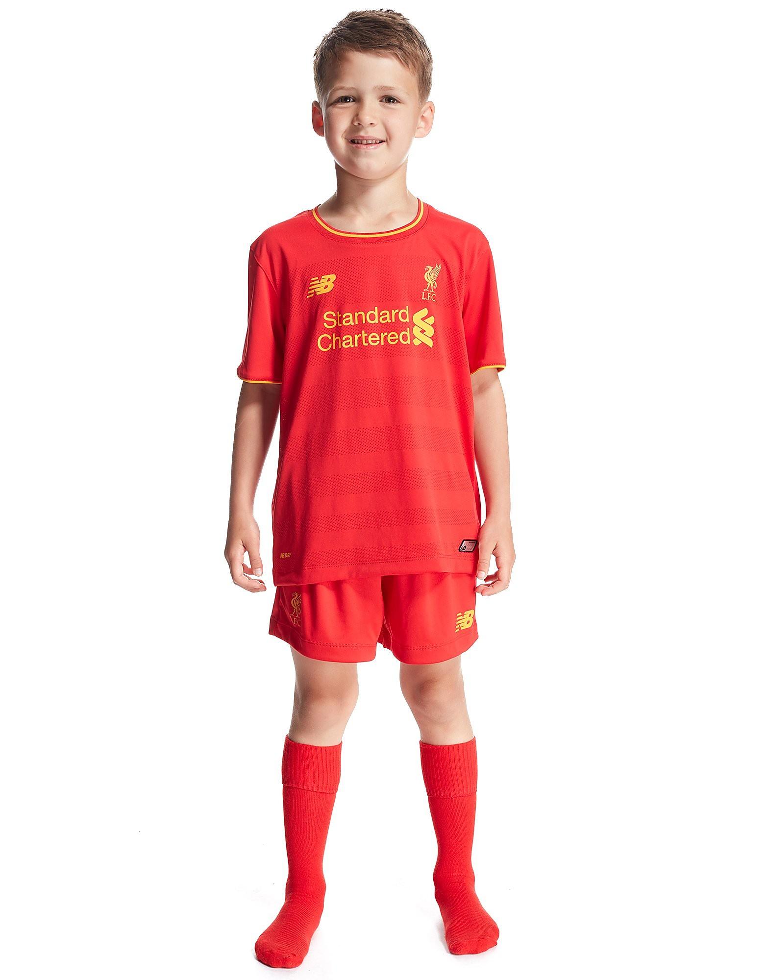 New Balance Liverpool FC 2016/17 Home Kit Children