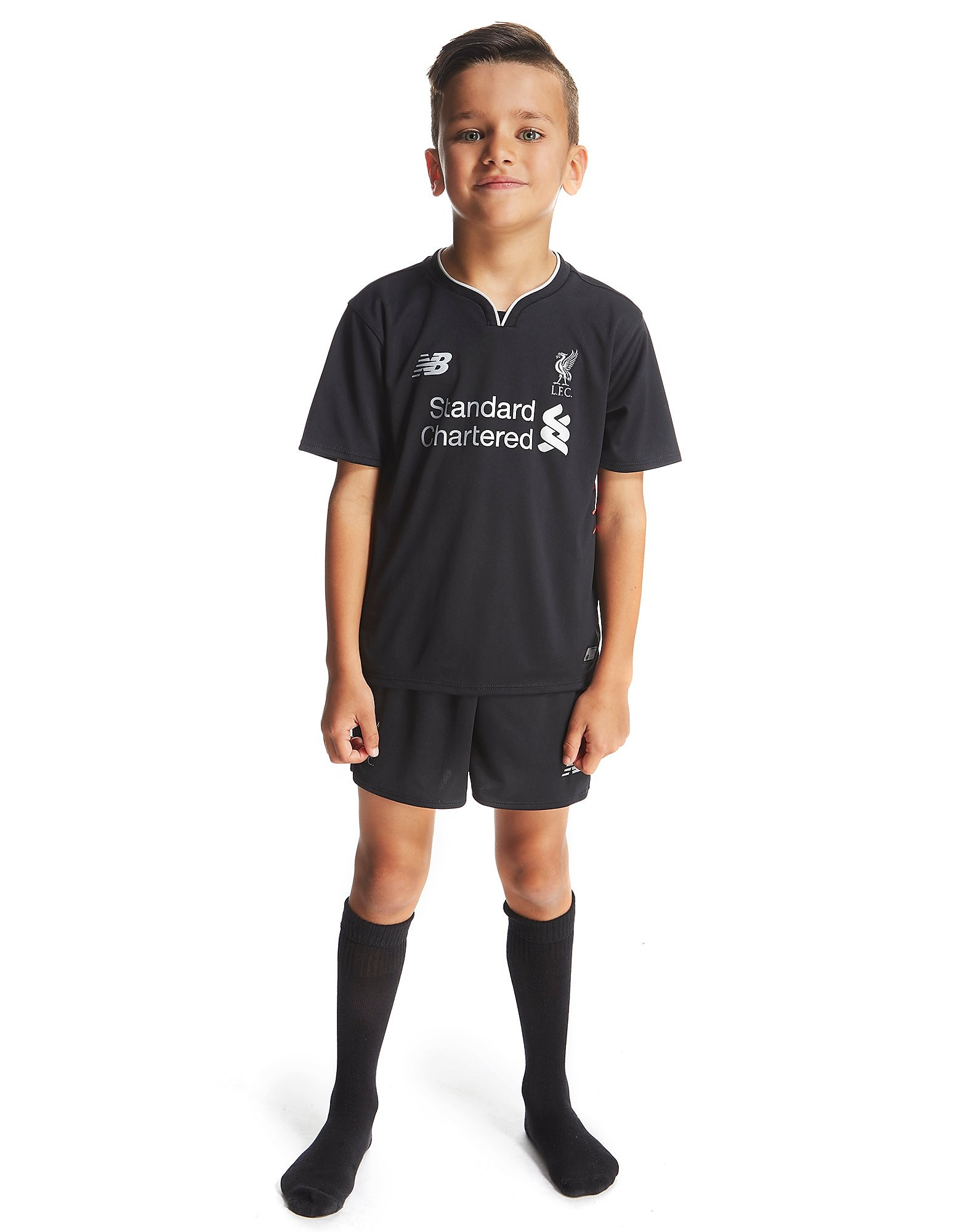 New Balance Liverpool FC 2016/17 Away Kit Children