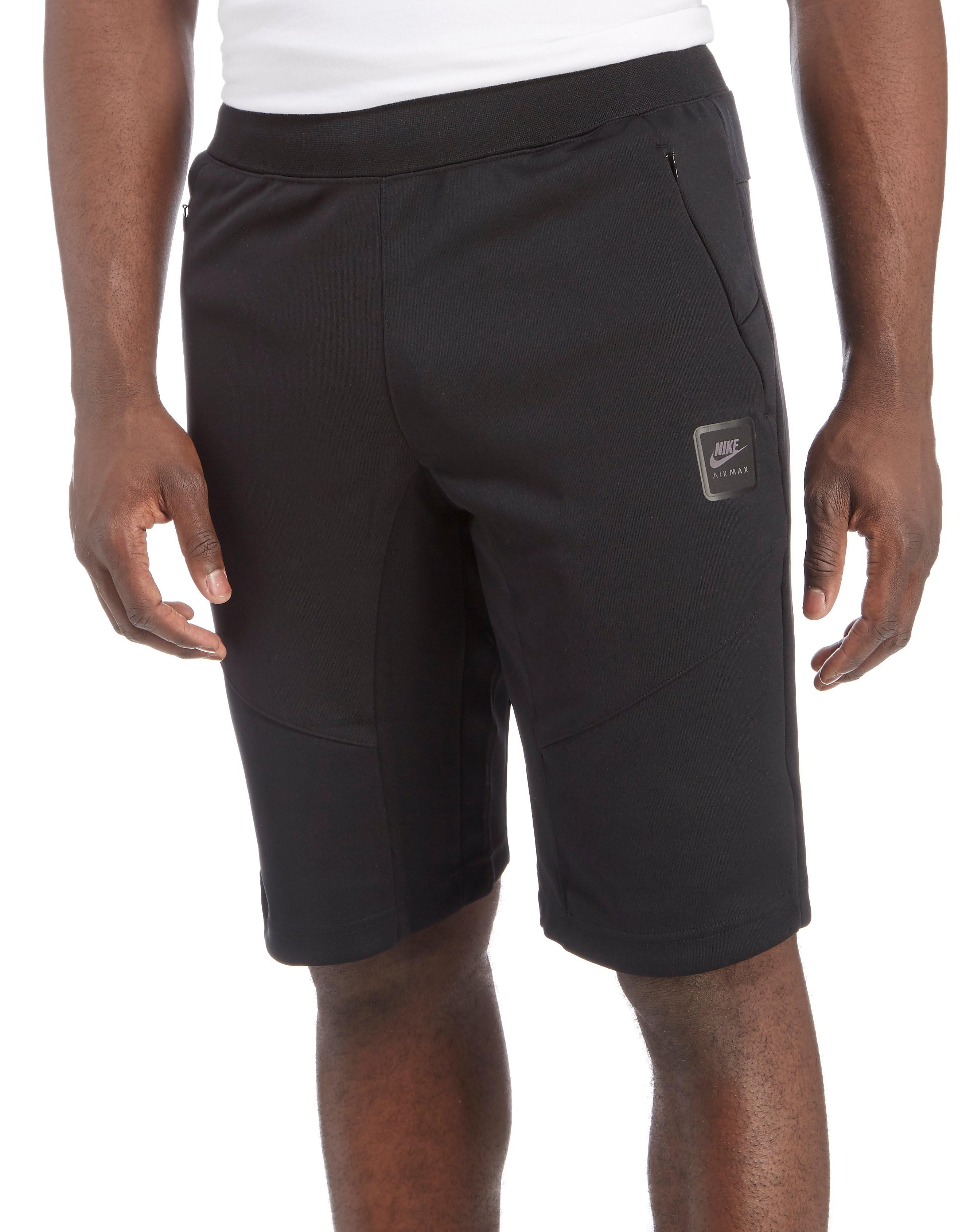 Nike Air Max Poly Shorts Black Mens Sports King Store