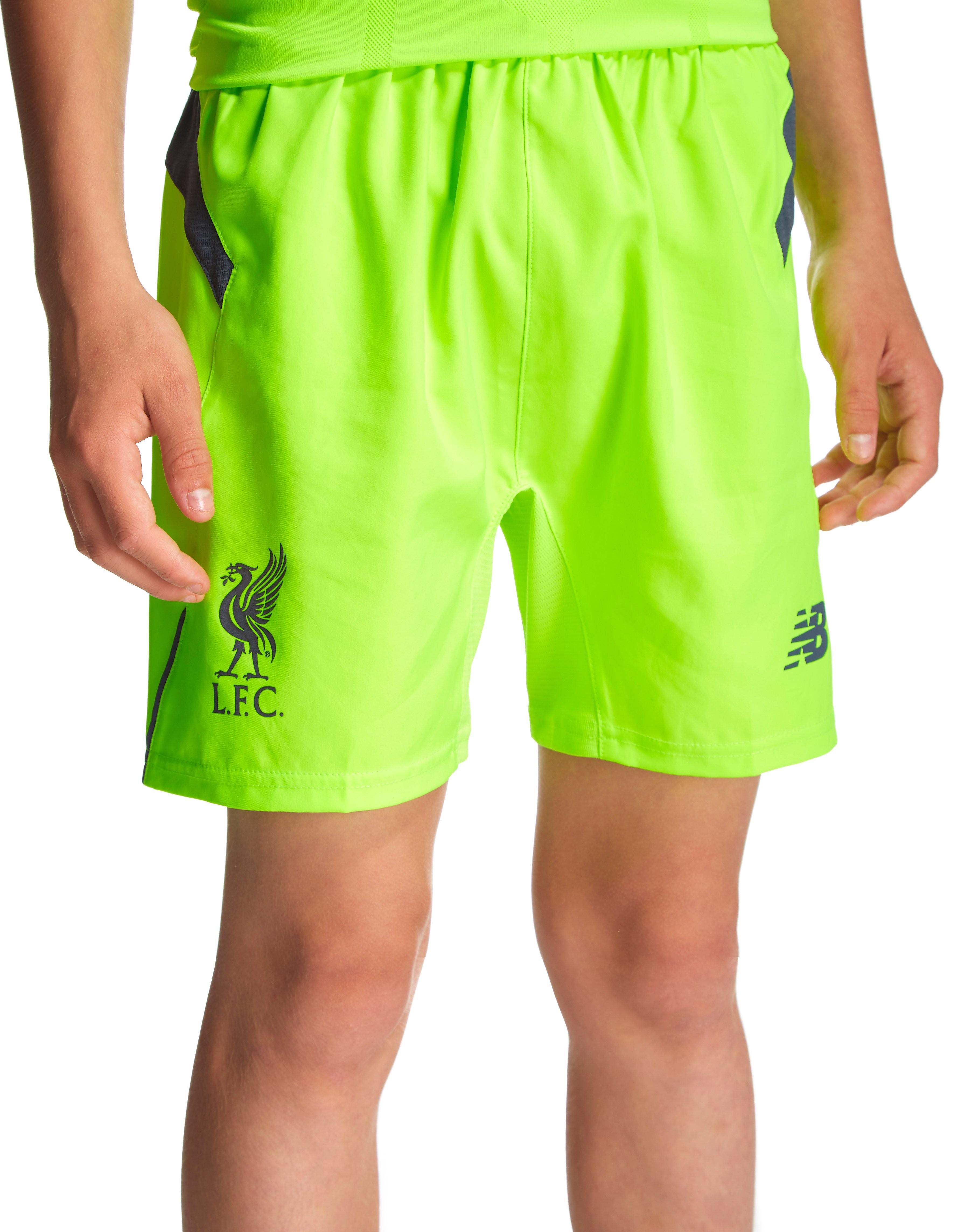New Balance Liverpool FC 2016/17 Third Shorts Junior