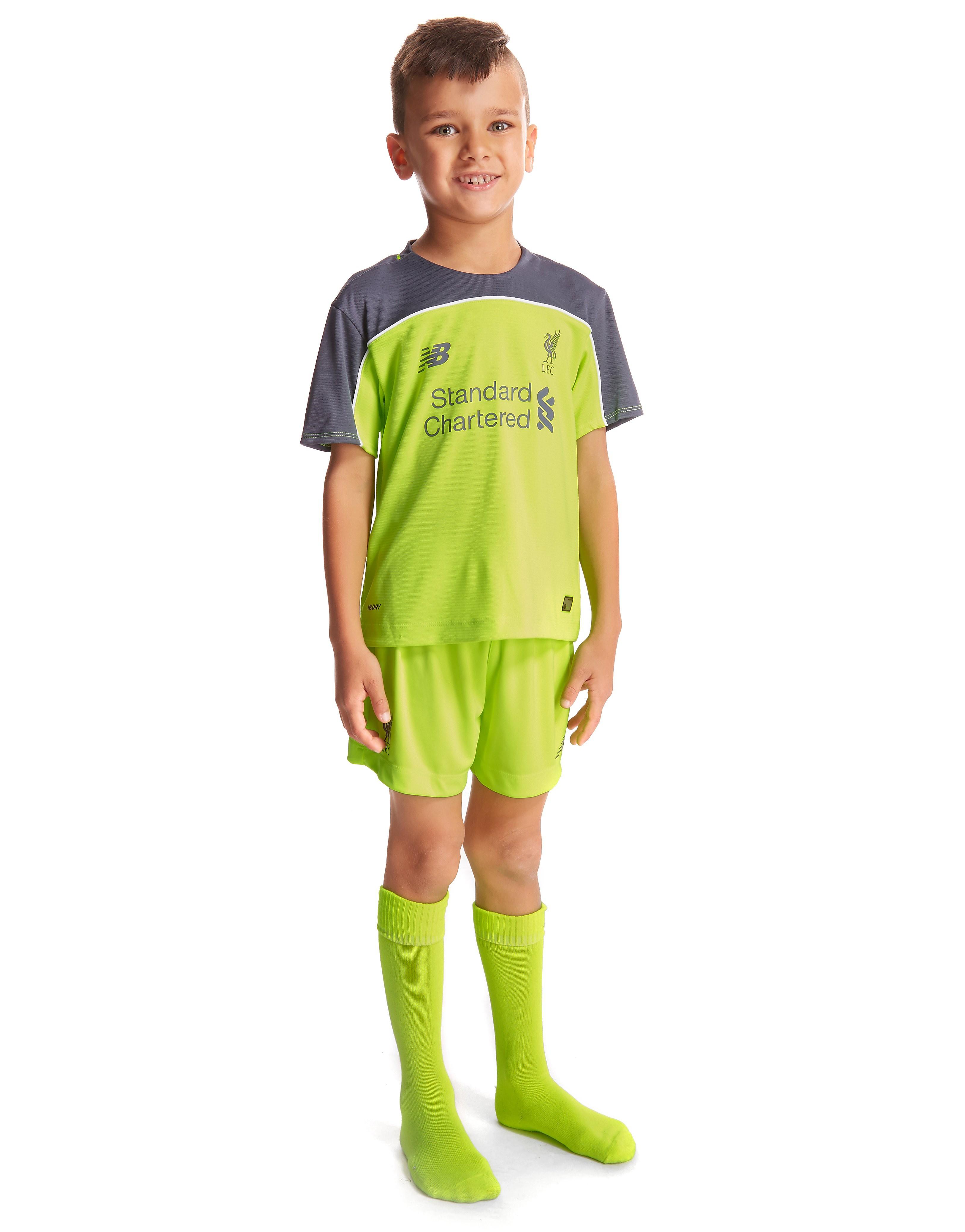 New Balance Liverpool FC 2016/17 Third Kit Children