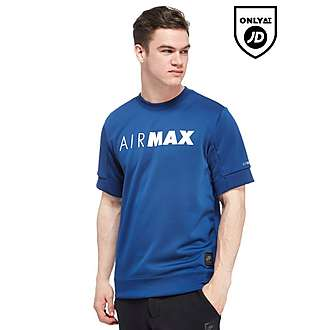 Nike Air Max Short Sleeve Sweatshirt
