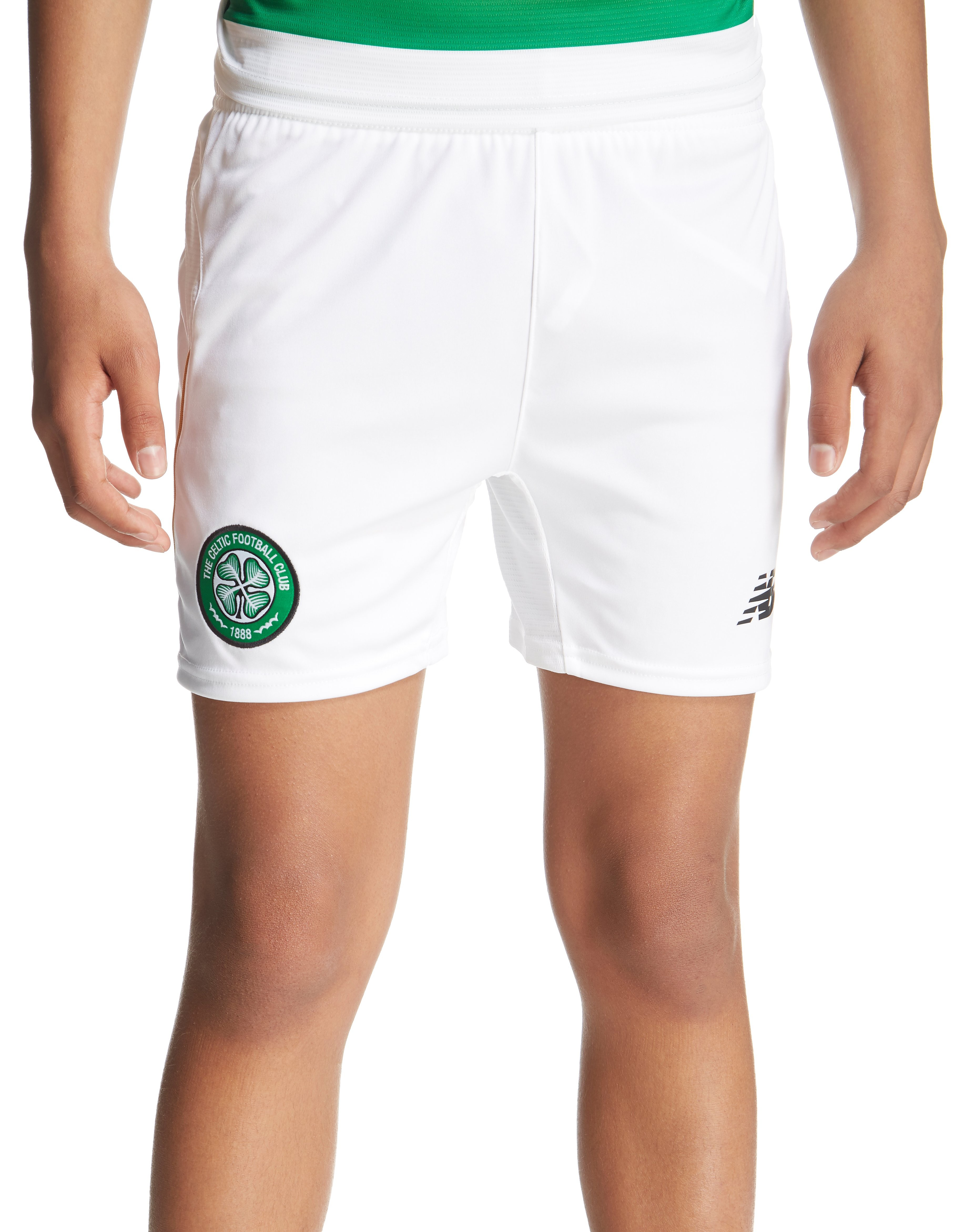 New Balance Celtic FC 2016/17 Home Shorts Junior
