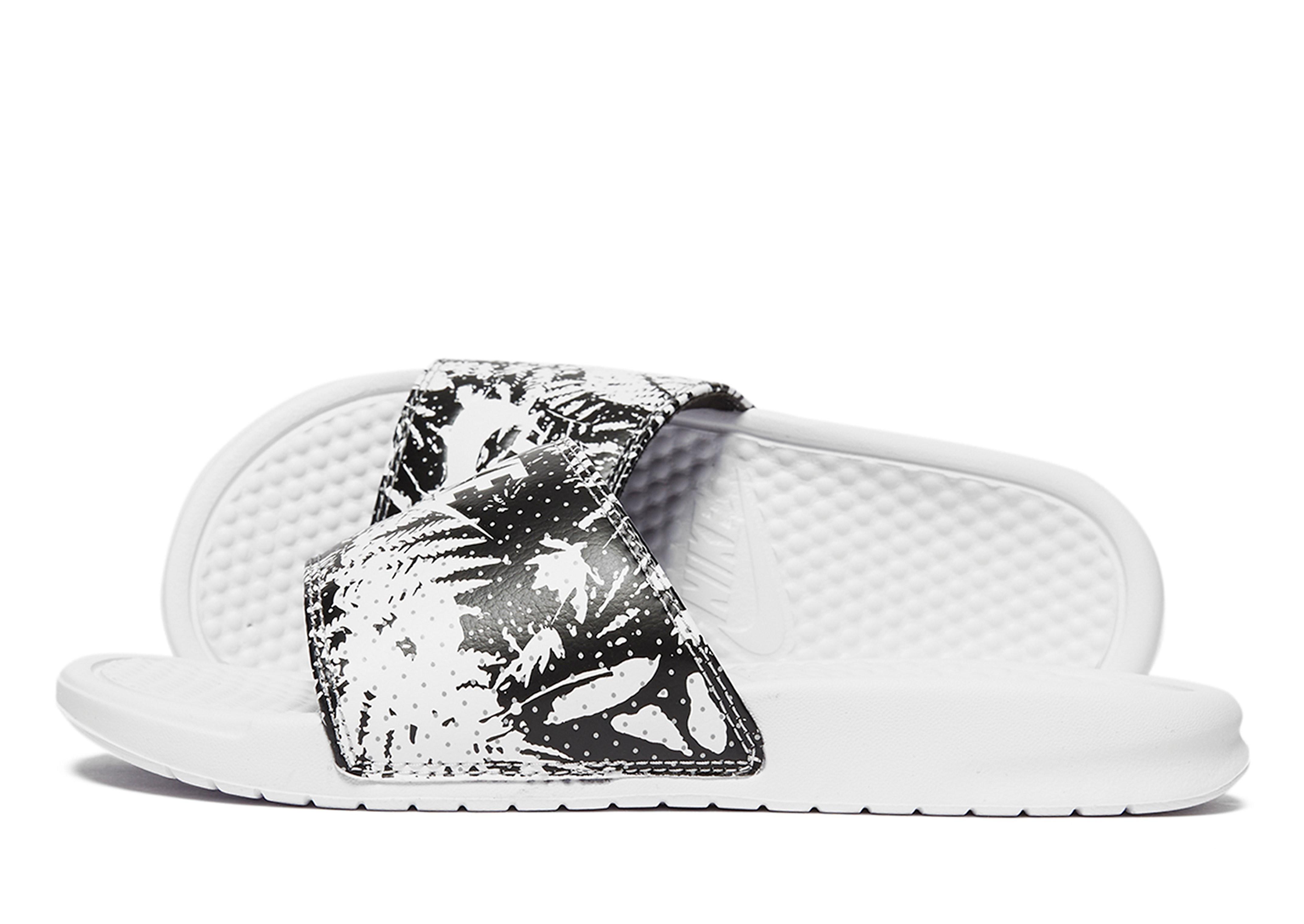 Nike Benassi Just Do It Print Slides Women's