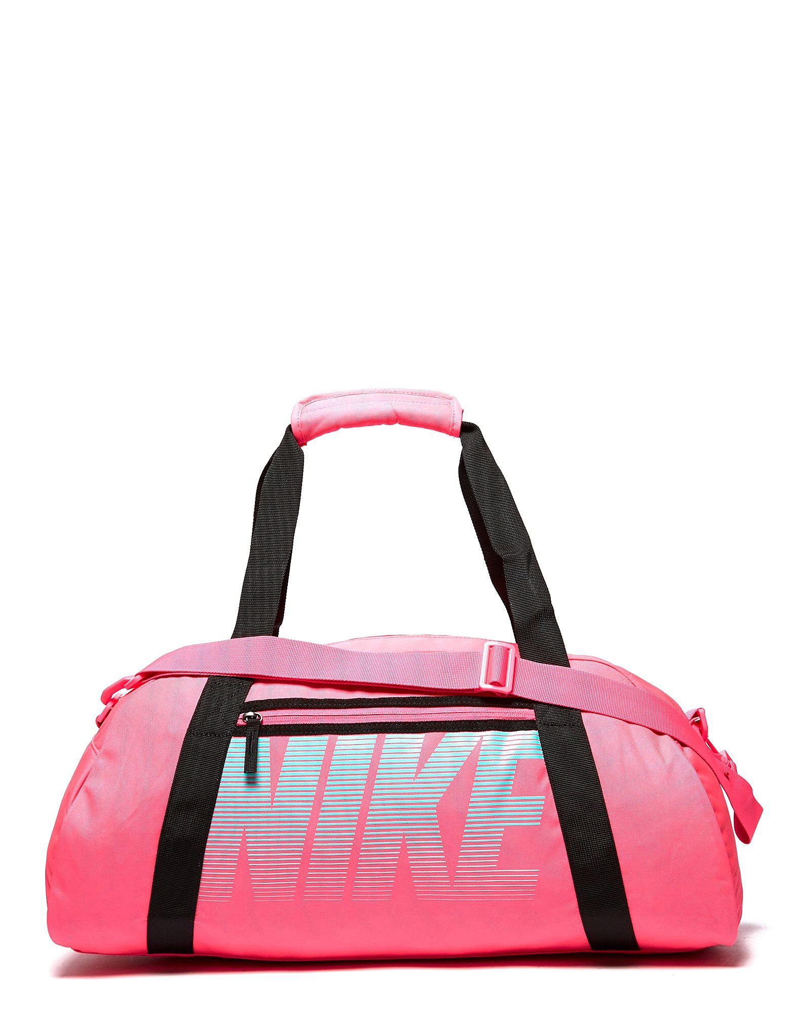 f76cae9cd38 Nike Gym Club Training Duffel Bag - Pink  Green - Womens - Sports ...