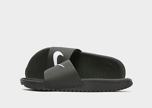 Comprar deportivas Nike chanclas Kawa infantil, Black/White