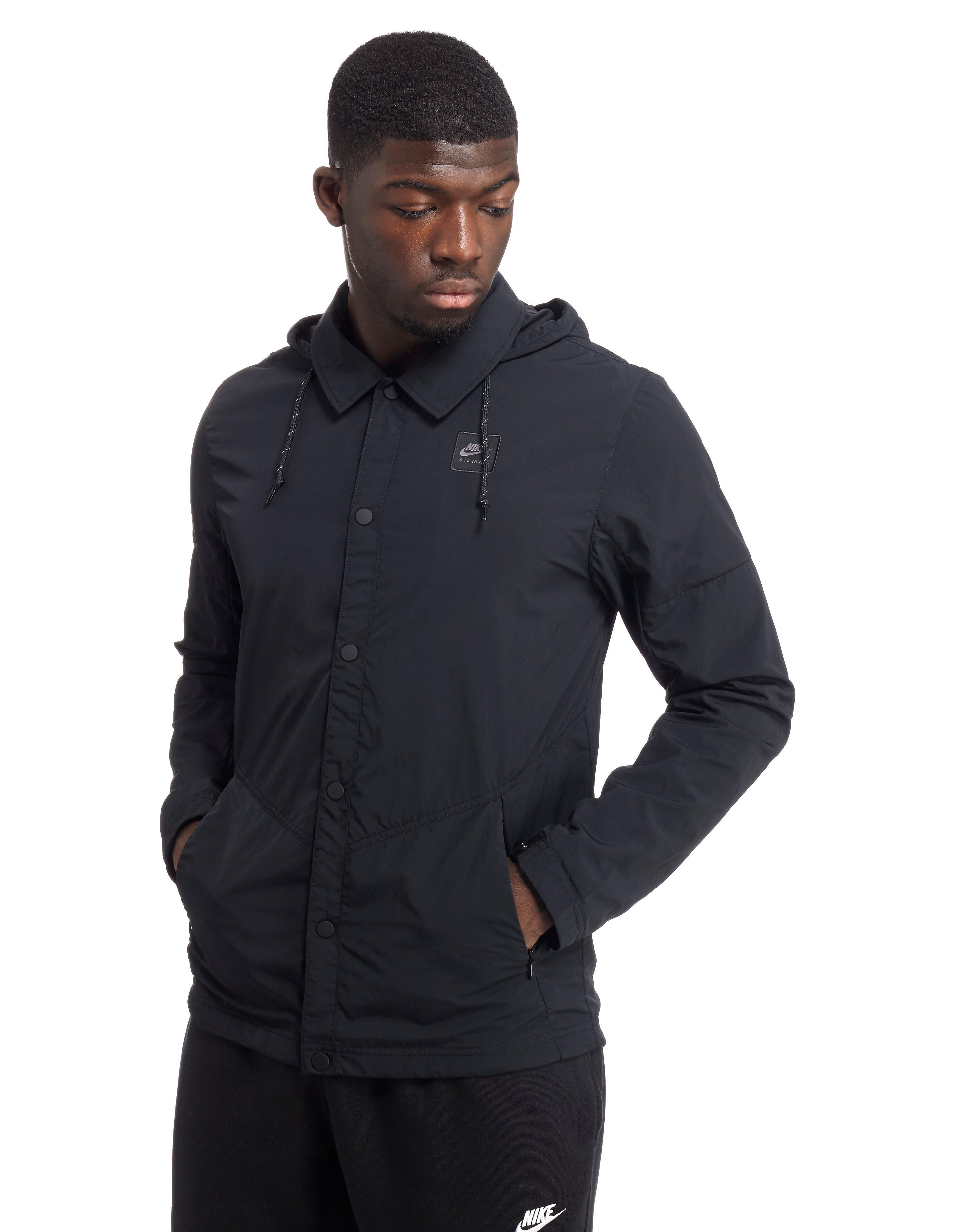 nike air max woven jacket black mens sports king store. Black Bedroom Furniture Sets. Home Design Ideas