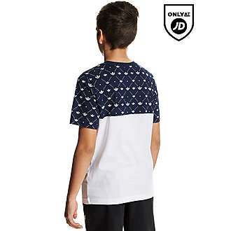 adidas Originals Trefoil Colour Block T-Shirt Junior