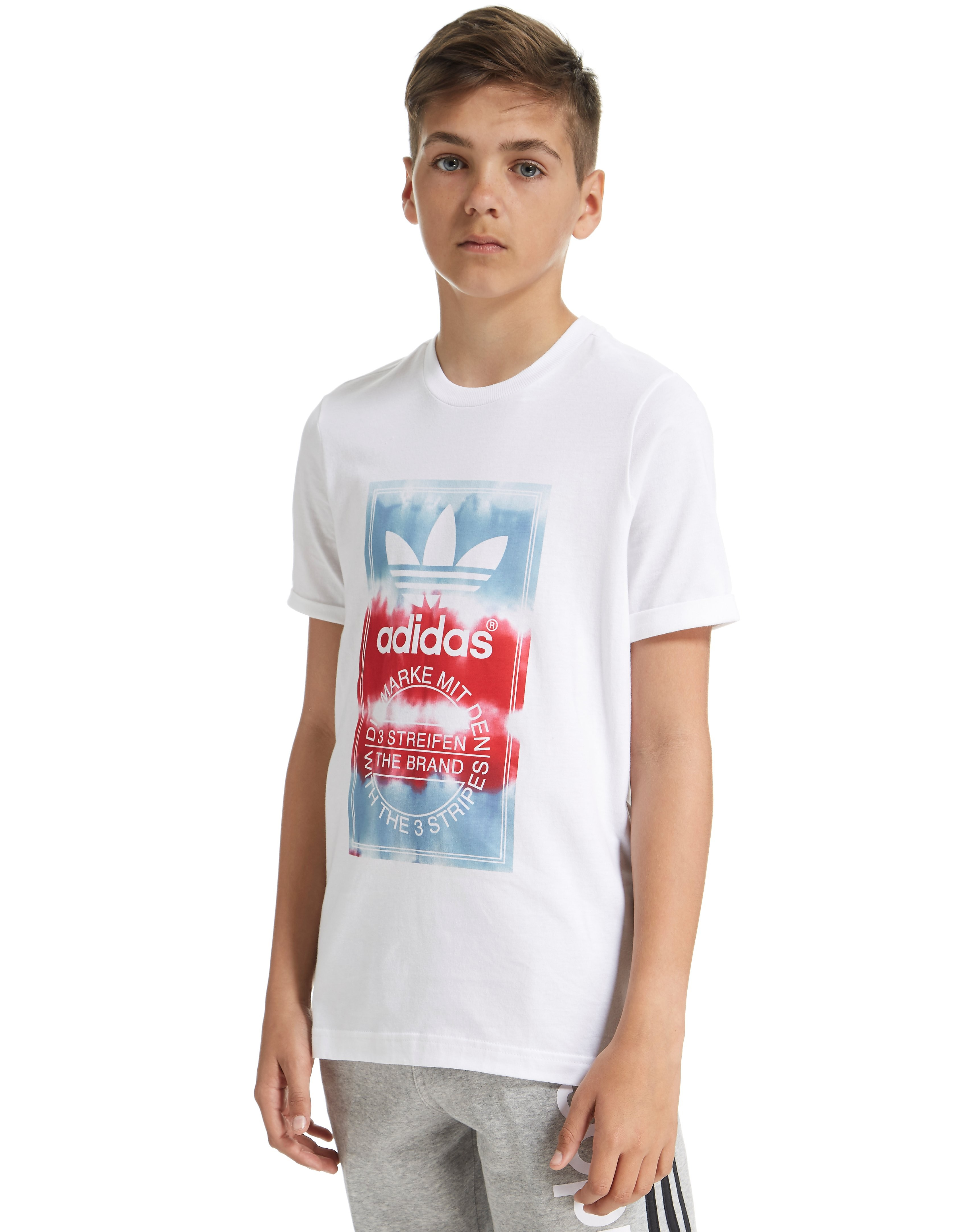 adidas Originals Tongue Tie Dye T-Shirt Junior