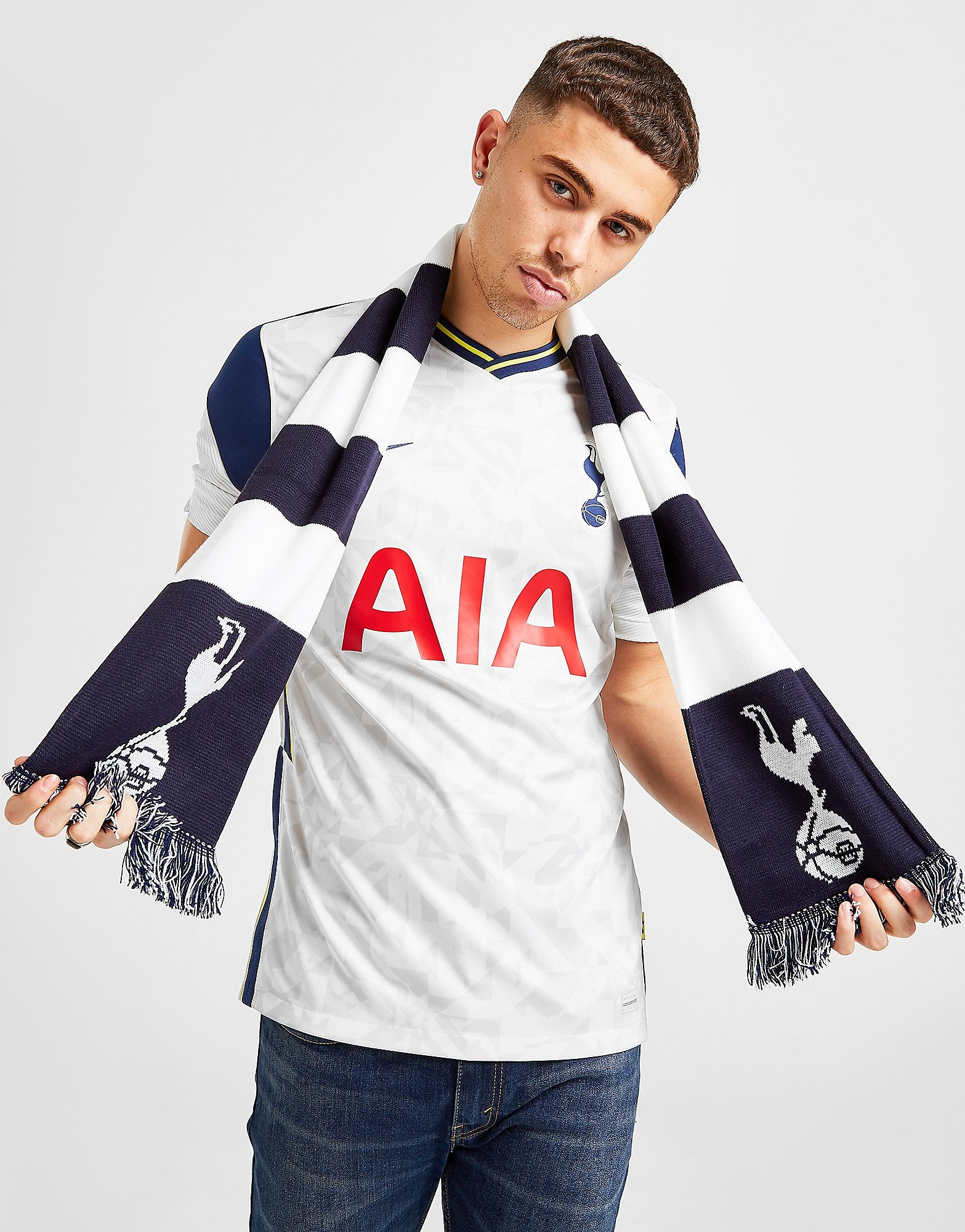 Official Team Tottenham Hotspur FC Bar Scarf
