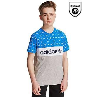 adidas Originals Trefoil Colour Block T-Shirt Junior