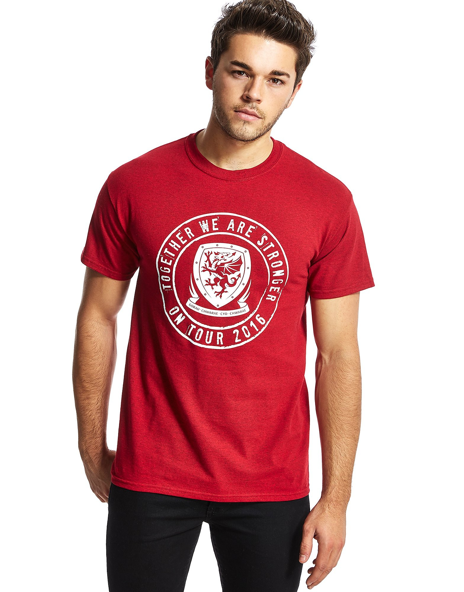 Official Team Wales Together We Are Stronger T-Shirt