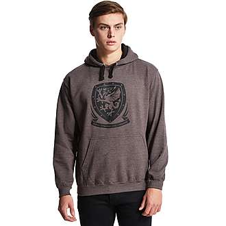 Official Team Wales Crest Hoody