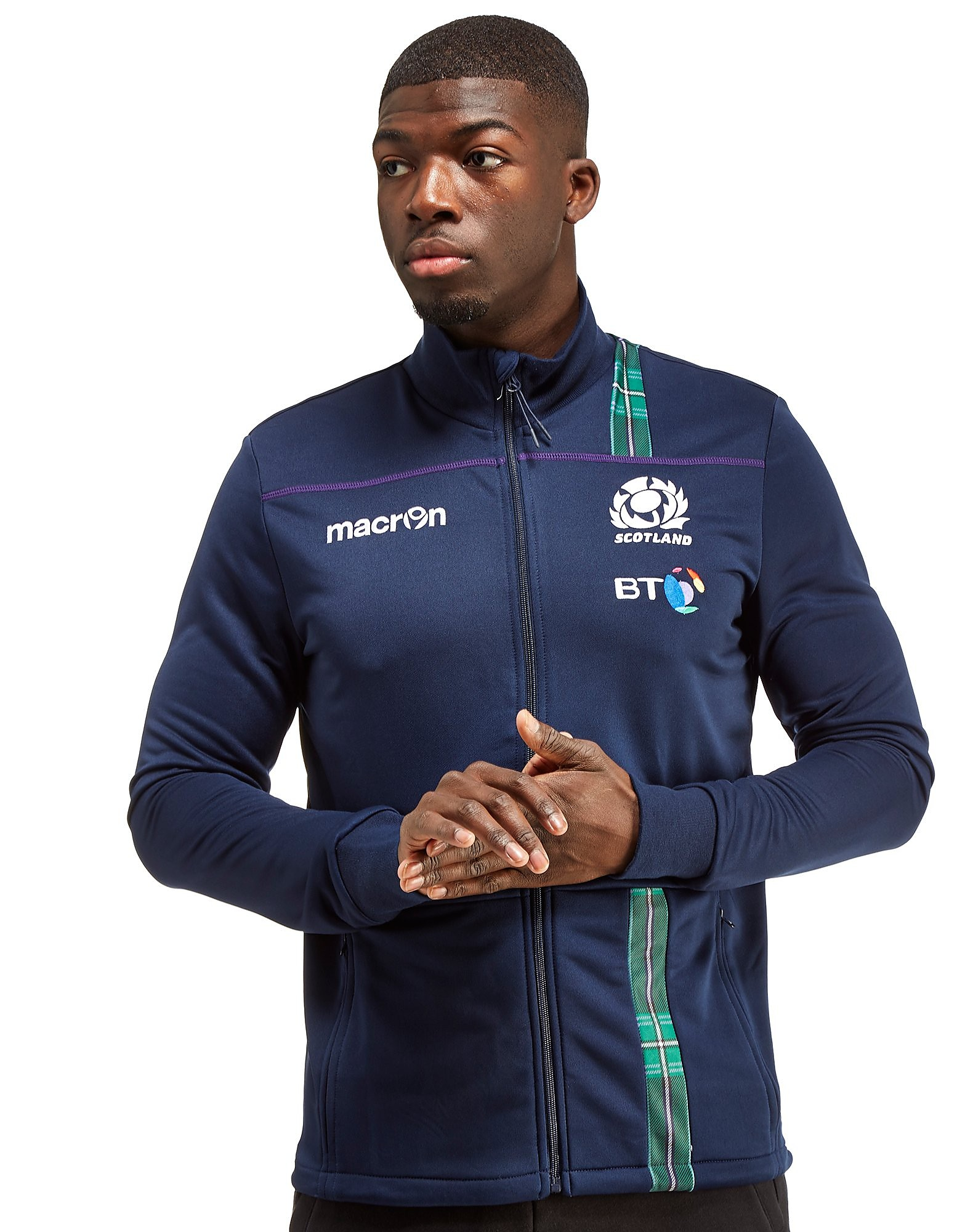 Macron Scotland Rugby 2016/17 Anthem Jacket