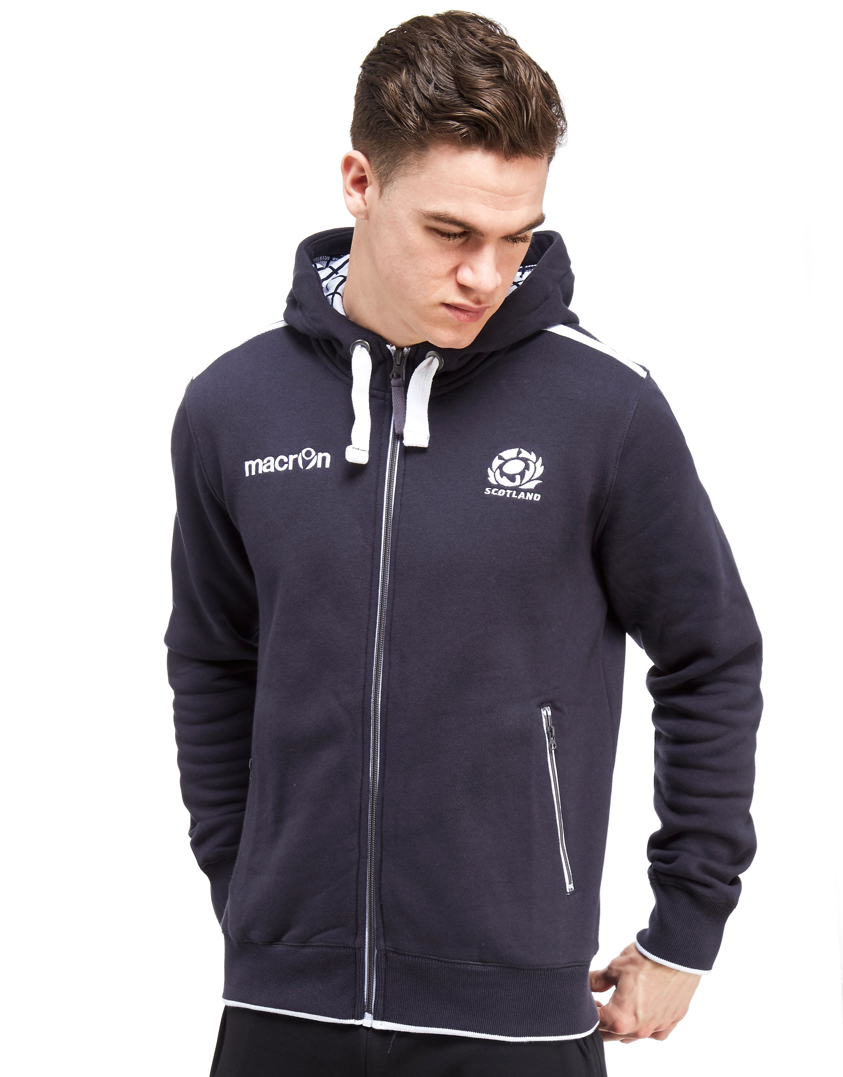 Macron Scotland RFU 2016/17 Full Zip Hoody