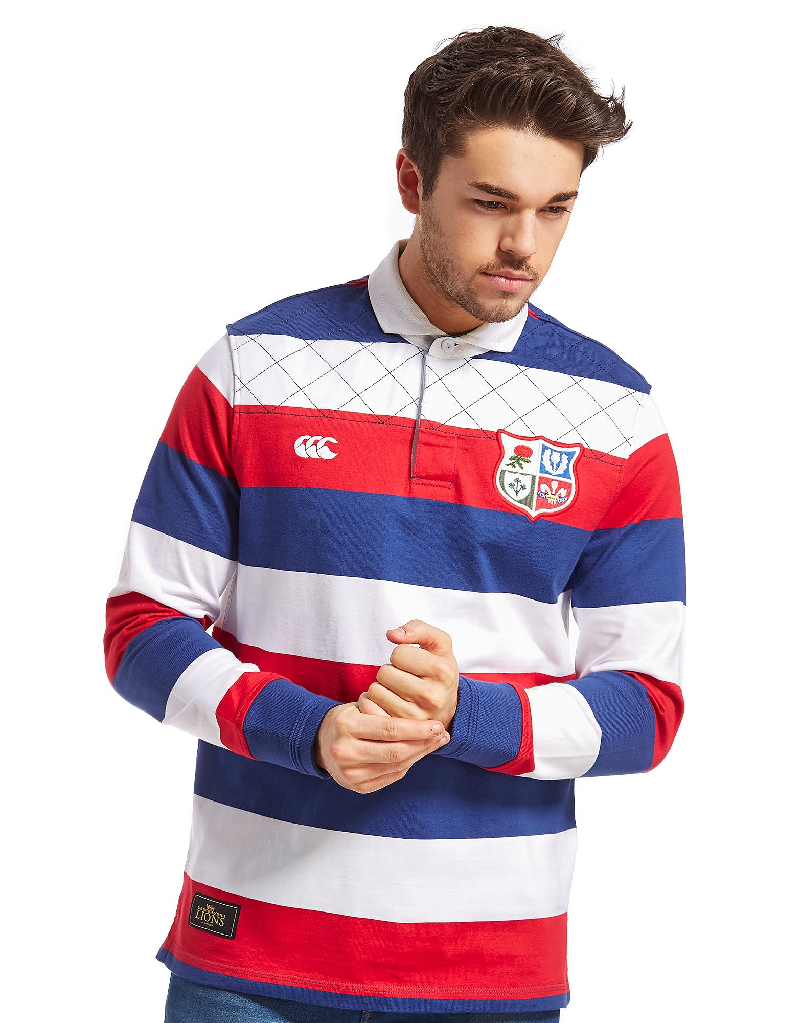 Canterbury British and Irish Lions Wide Stripe Rugby Shirt