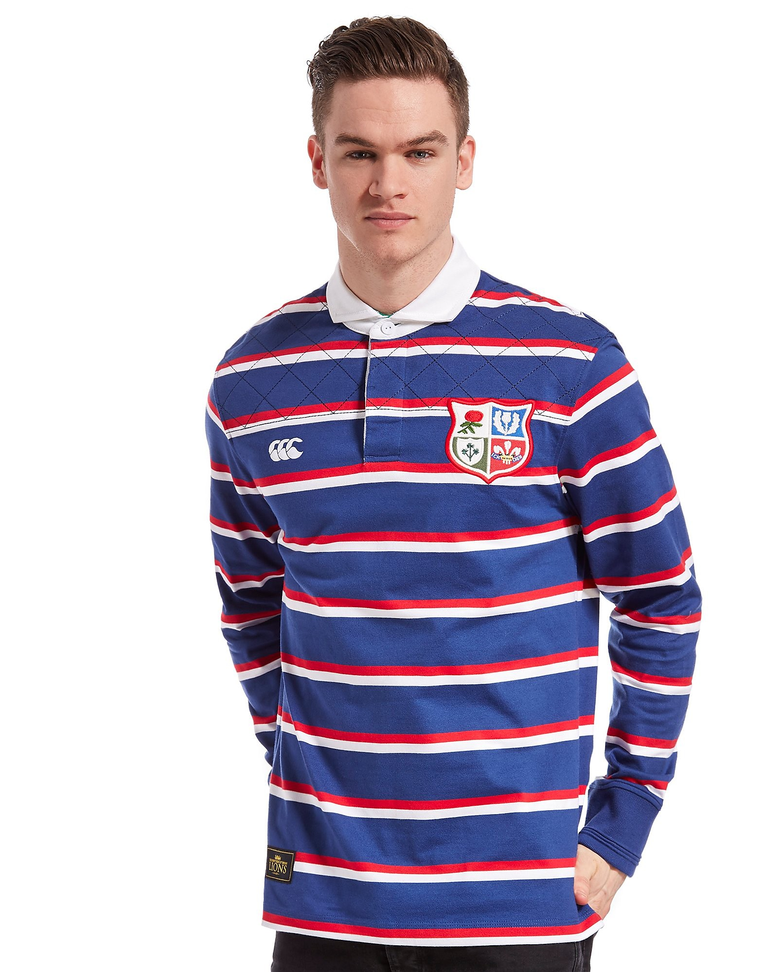 Canterbury British and Irish Lions Longsleeve Rugby Shirt