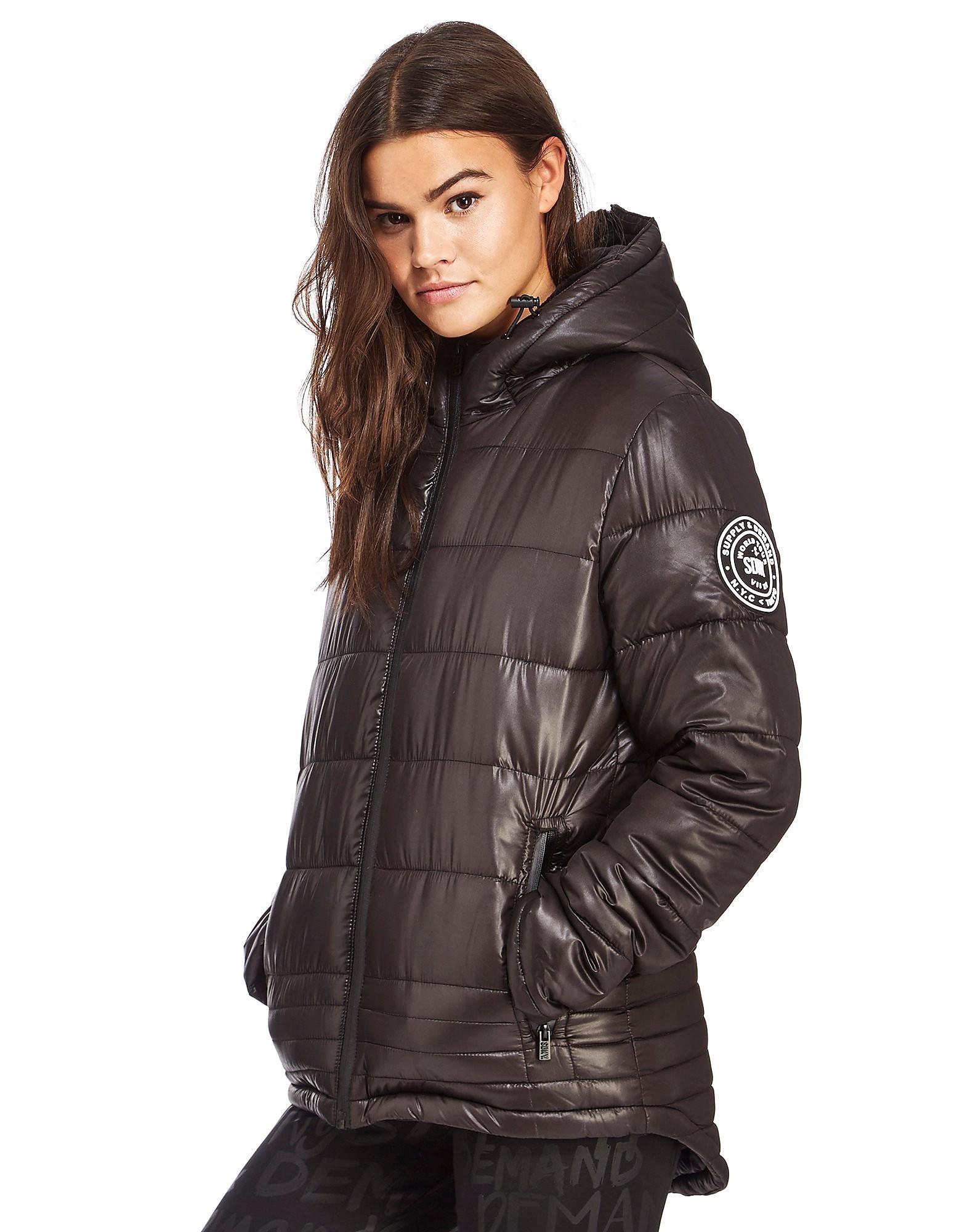 Supply & Demand Irregular Quilt Jacket
