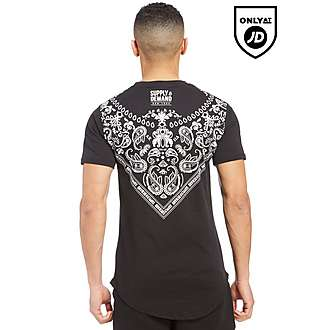 Supply & Demand Bandana Neck T-Shirt