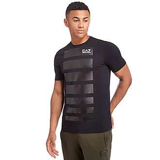 Emporio Armani EA7 7 Line Print T-Shirt
