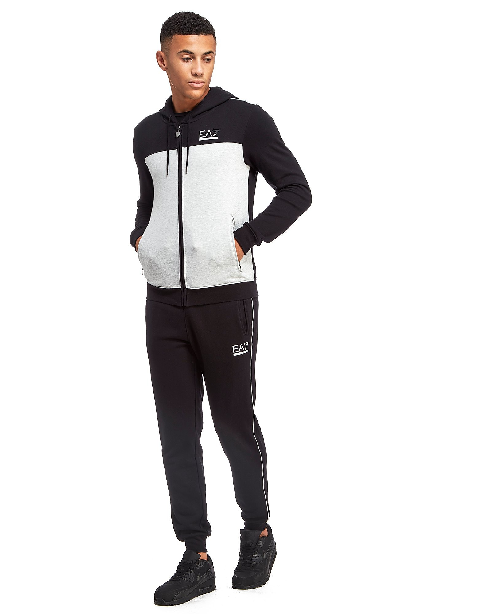 Emporio Armani EA7 Panel Colour Block Tracksuit