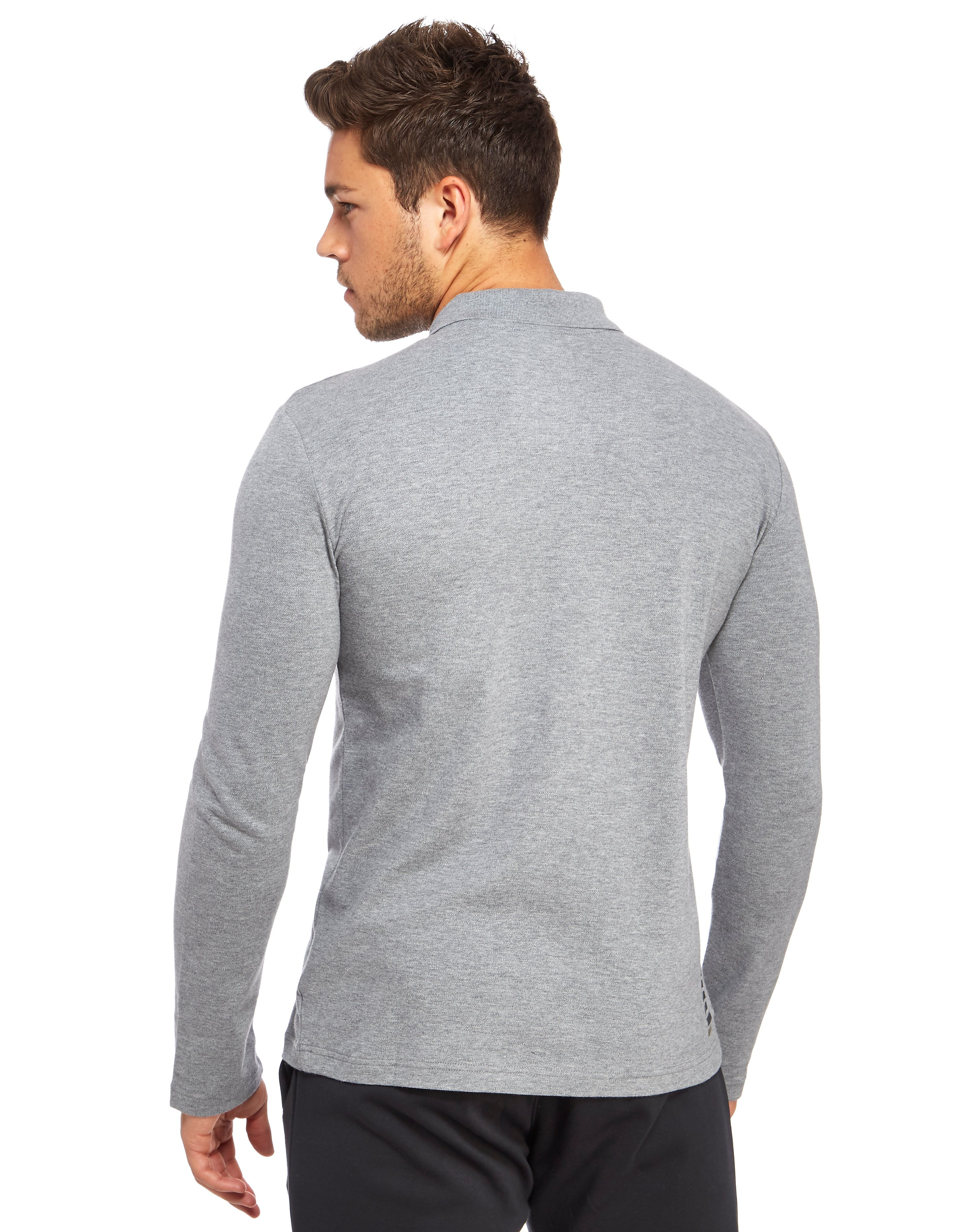 Emporio Armani EA7 Core Pique Longsleeve Polo Shirt