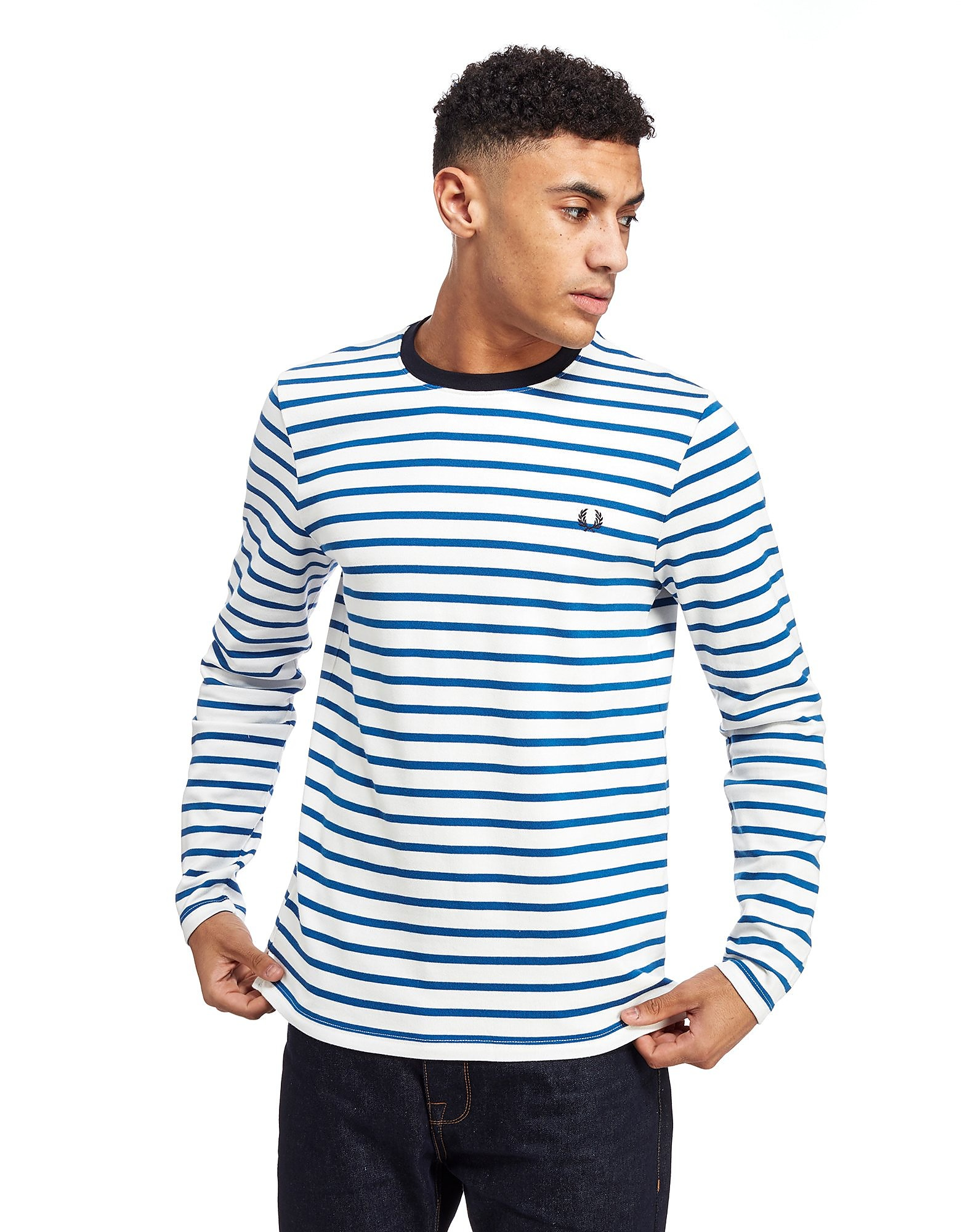 Fred Perry Breton Stripe Longsleeve T-Shirt