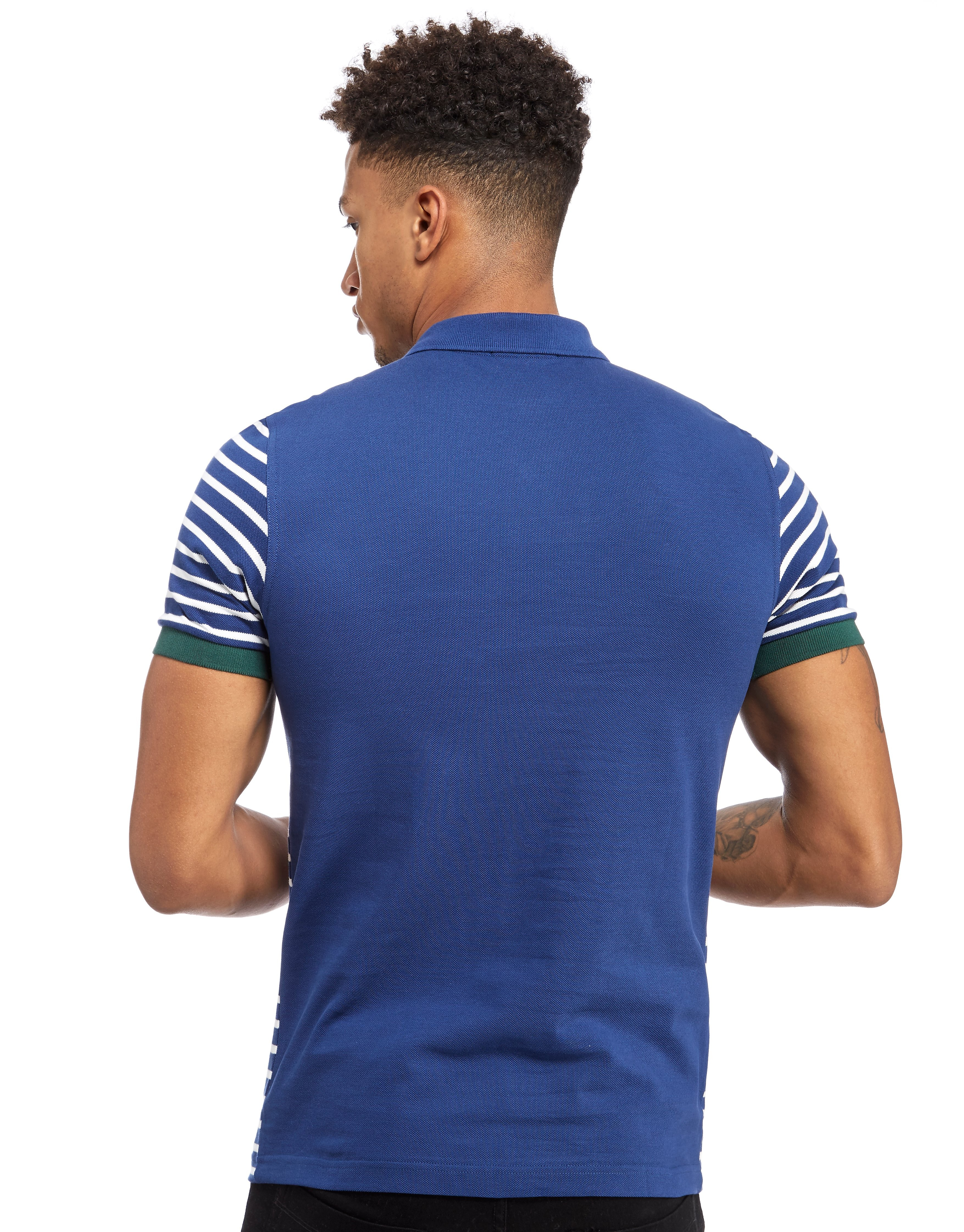 Fred Perry Striped Panel Polo Shirt