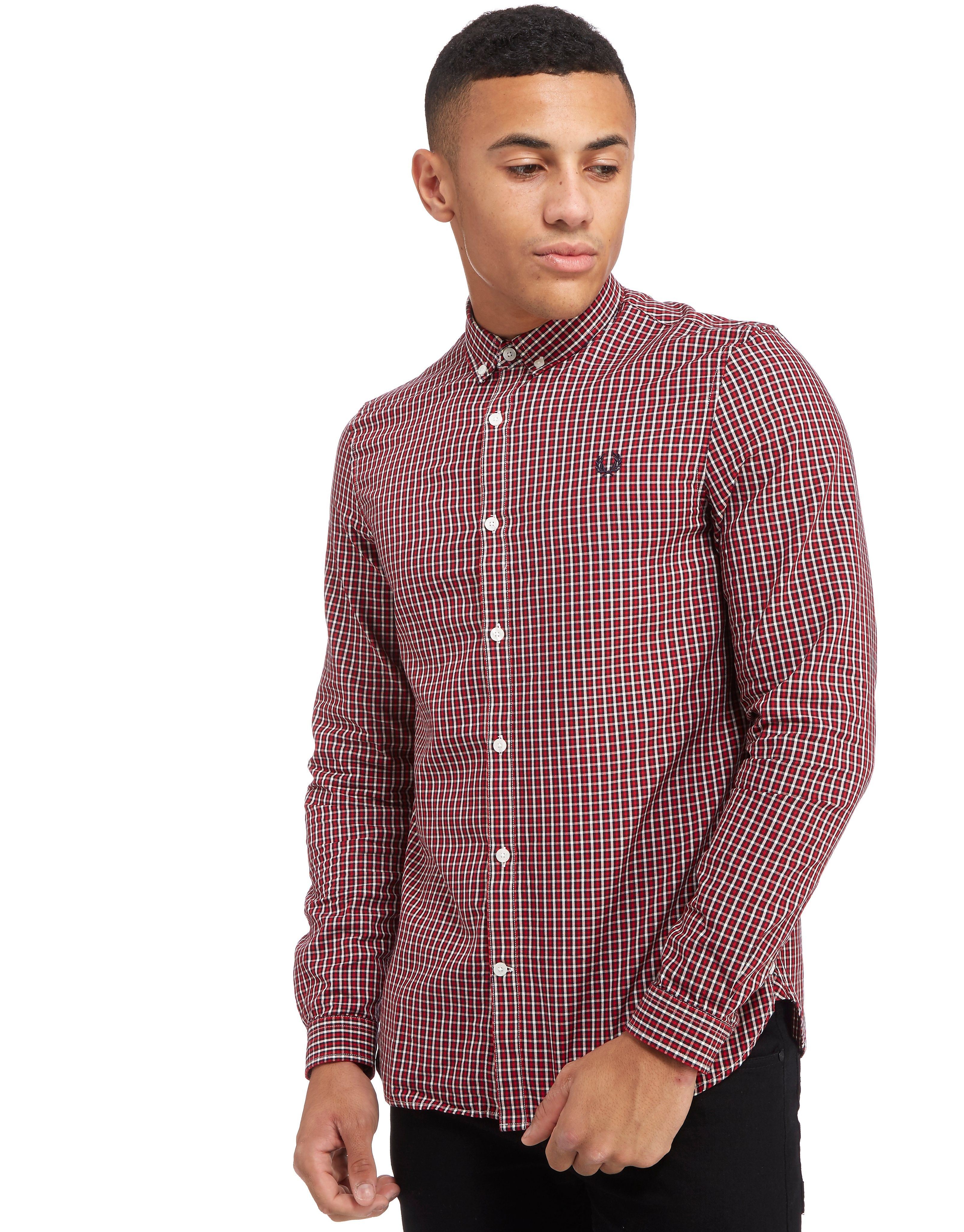 Fred Perry Basket Weave Gingham Shirt