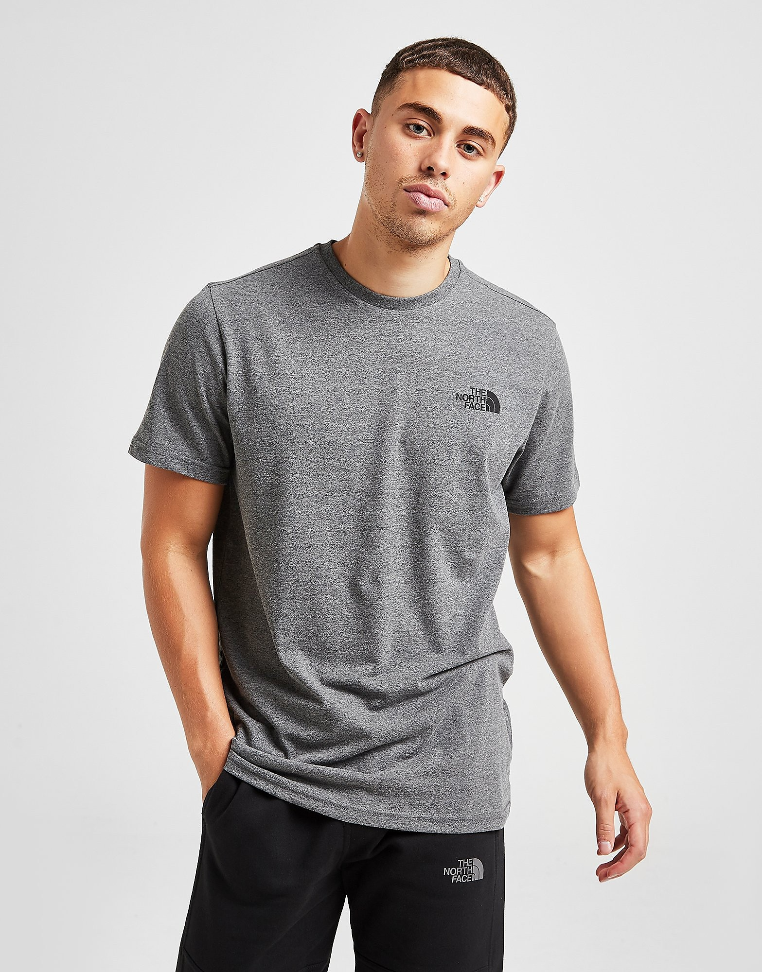 The North Face Simple Dome T-Shirt - Grijs - Heren