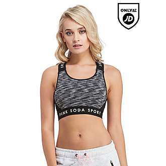 Pink Soda Sport Heart Sports Bra