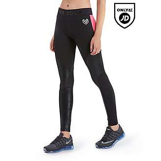 Pink Soda Sport Snake Panel Tights