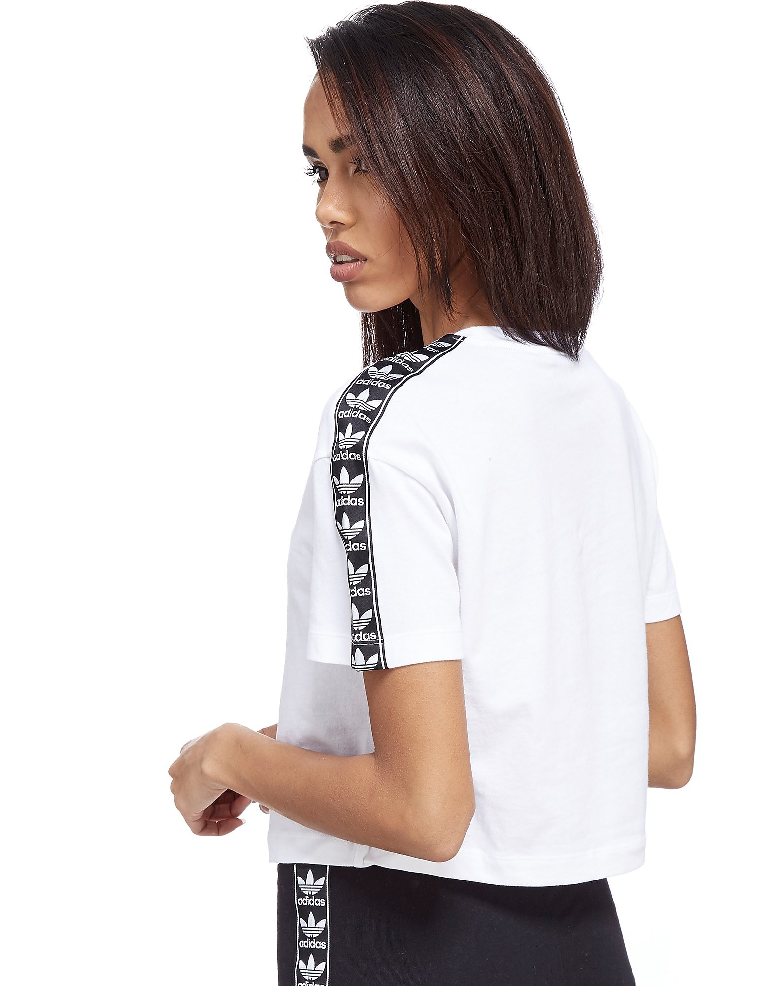 adidas Originals Tape Crop T-Shirt