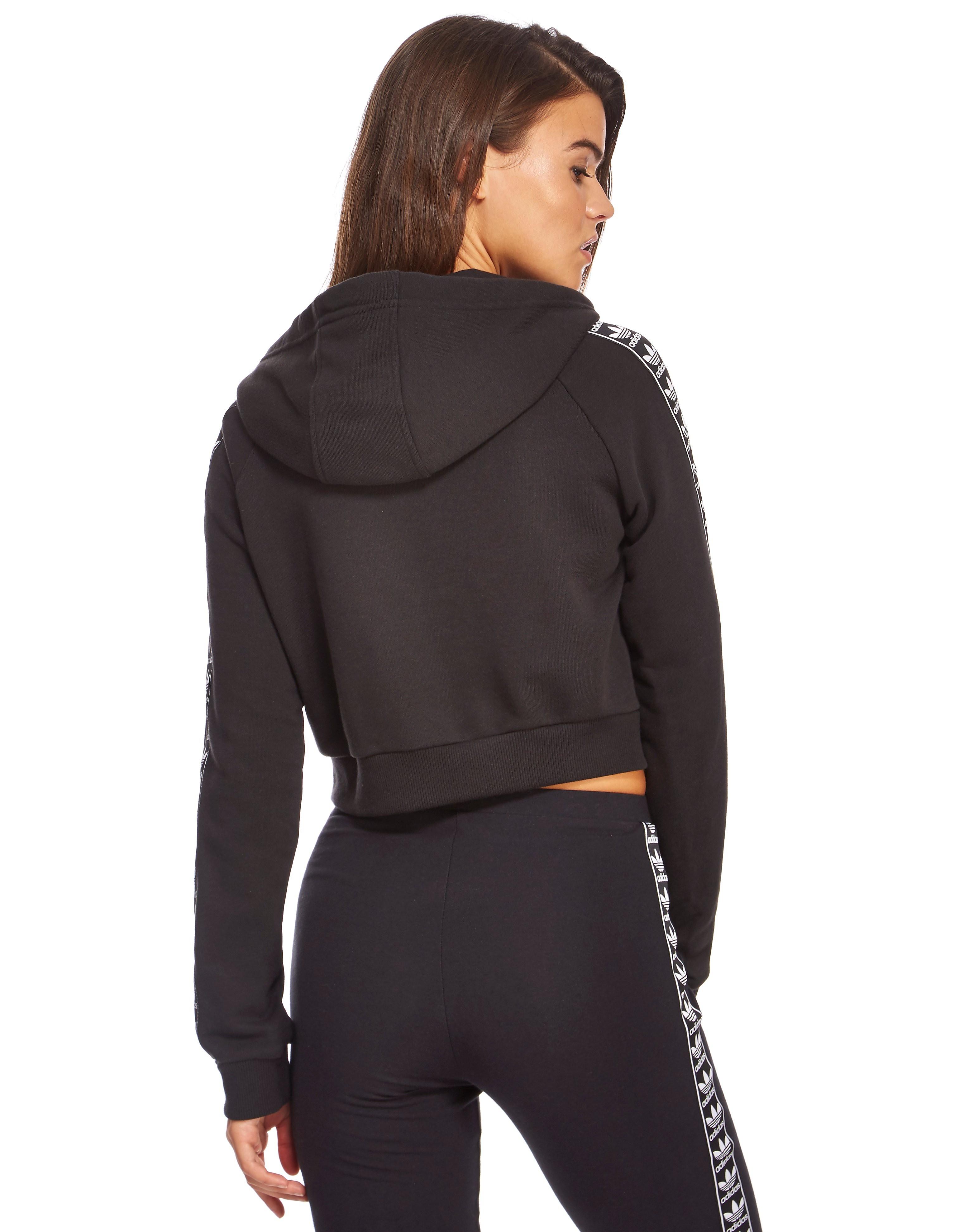 adidas Originals Tape Crop Overhead hoodie