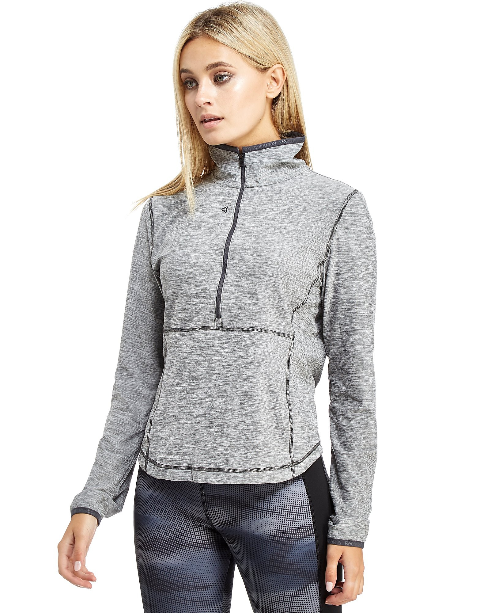 Reebok Workout Ready Longsleeve 1/2 Zip Top