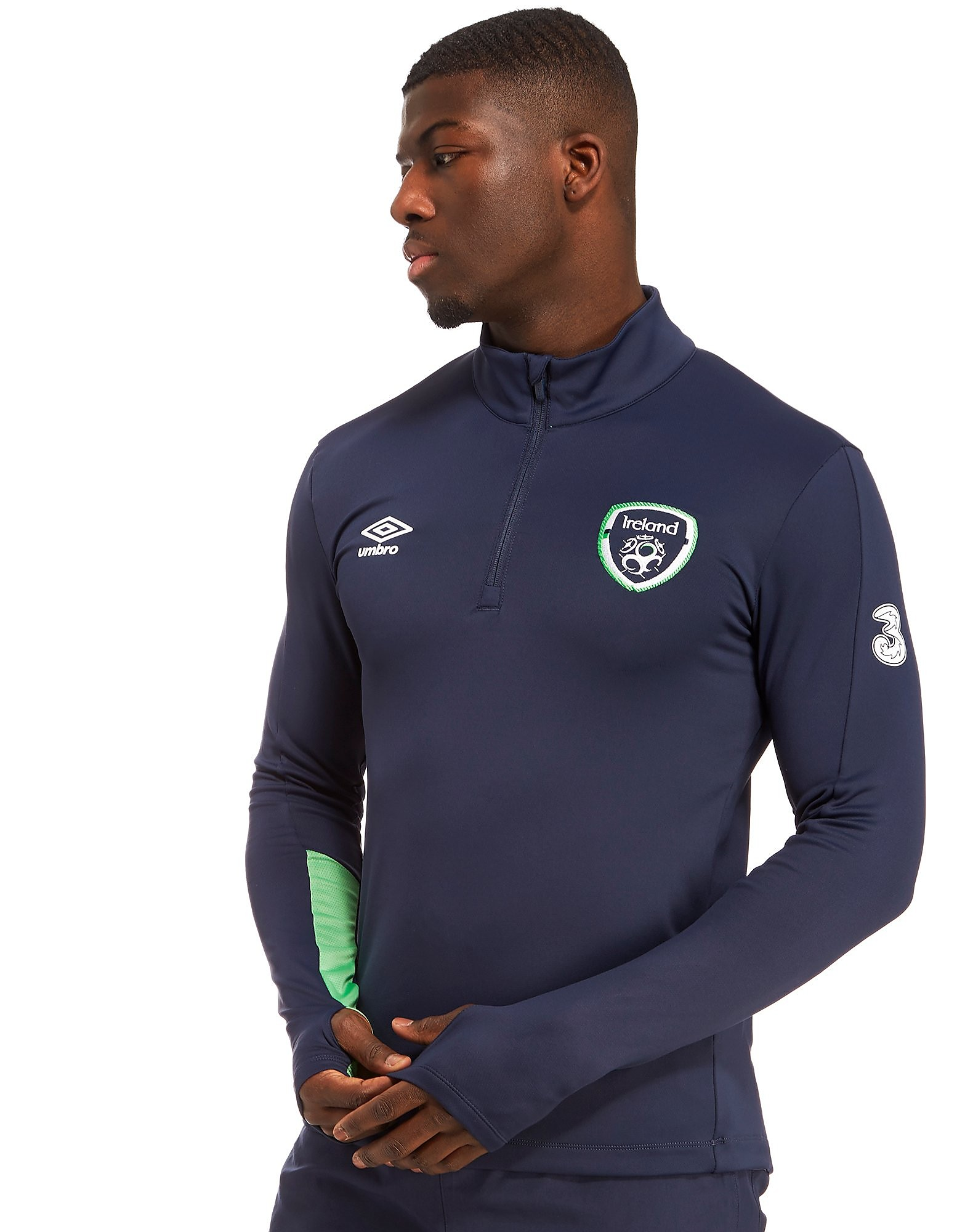Umbro Republic of Ireland Half Zip Top