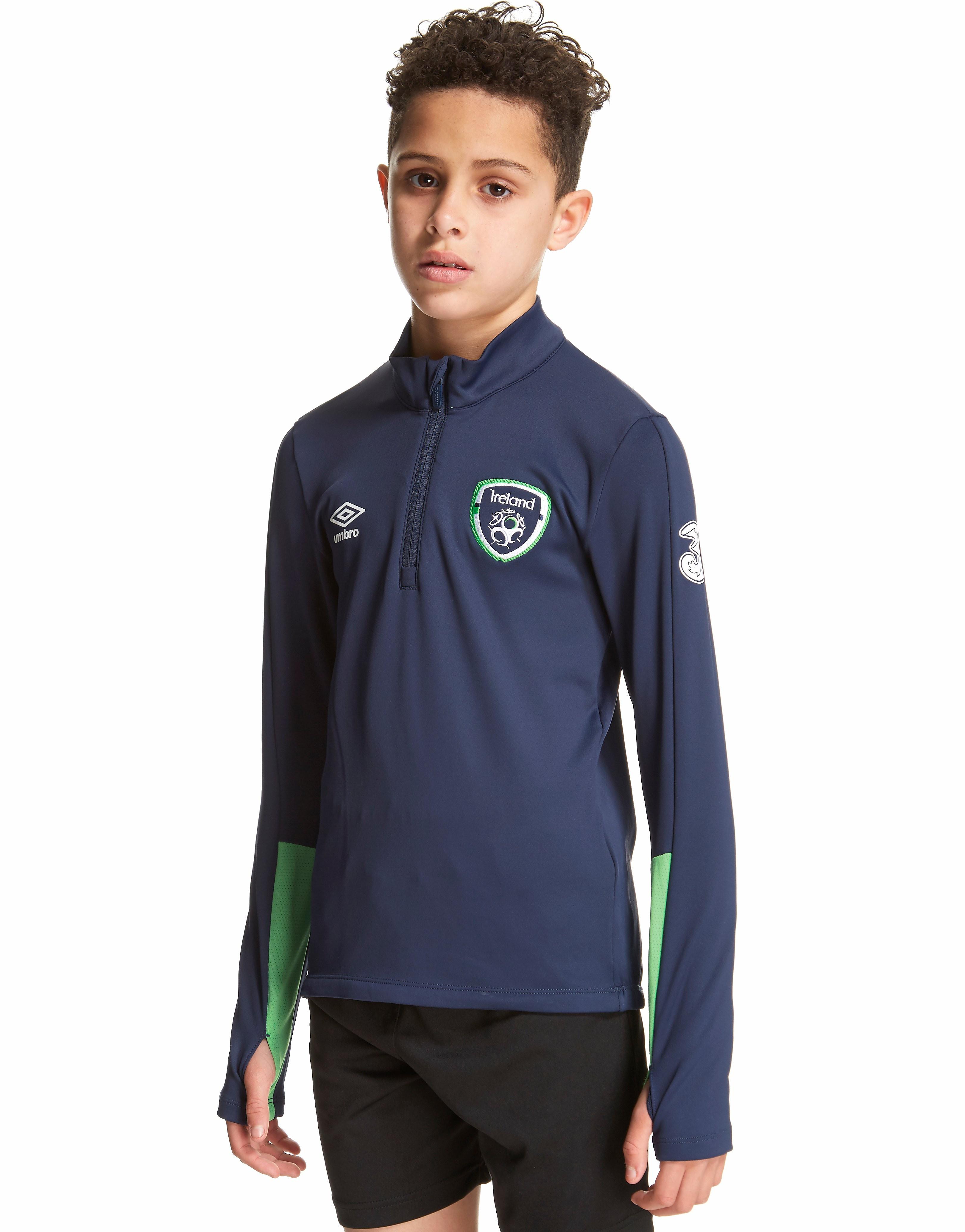Umbro Republic of Ireland Half Zip Top Junior