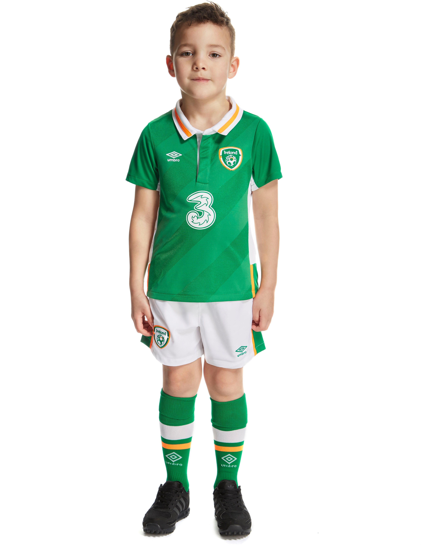 Umbro Republic of Ireland 2016 Home Kit Children