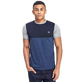 Fred Perry Marl Colour Block T-Shirt