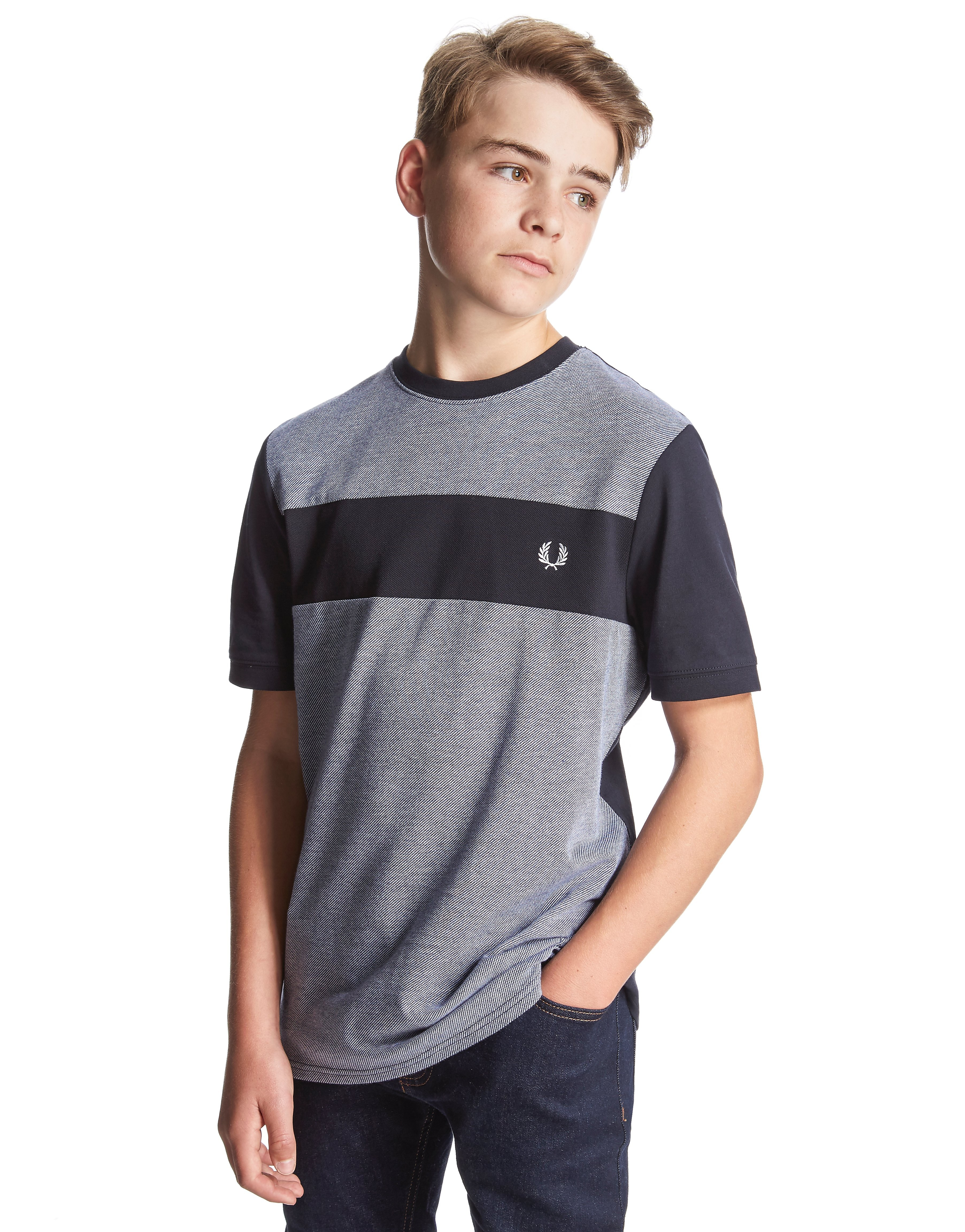 Fred Perry Colour Block T-Shirt Junior
