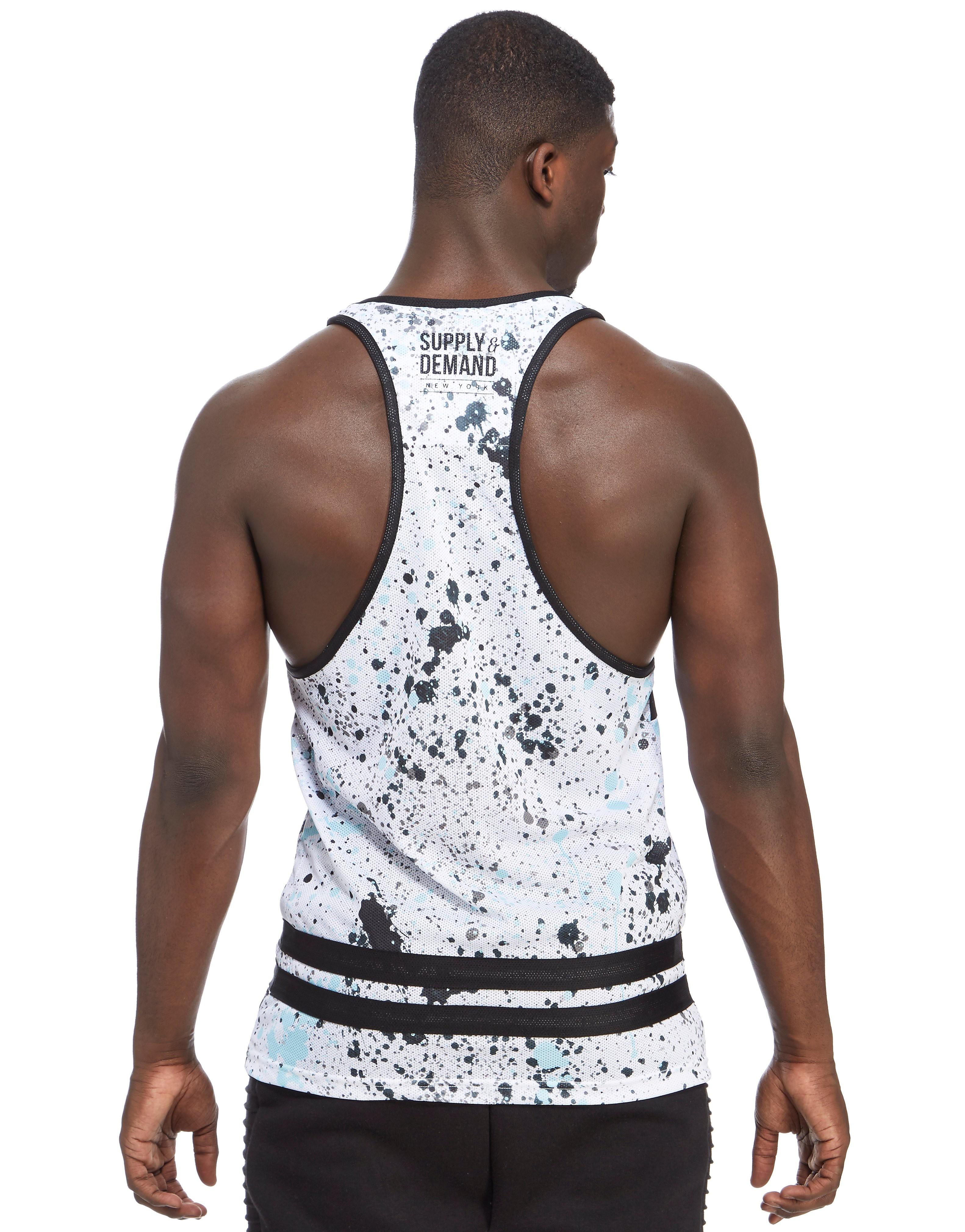 Supply & Demand Drifters Paint Vest
