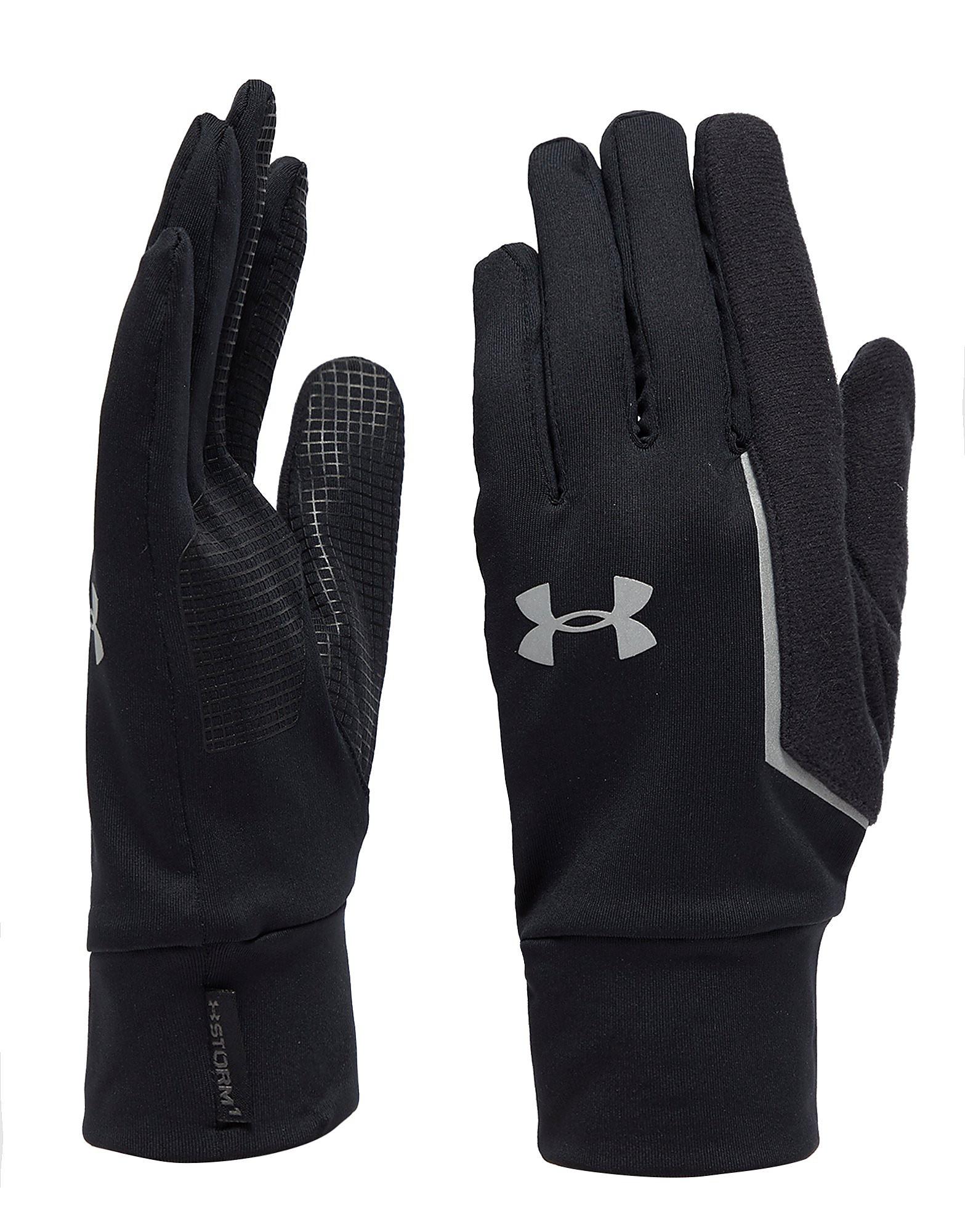 Leather gloves mens jd - Under Armour Nobreaks Armour Liner Gloves Black Silver Mens Black Silver